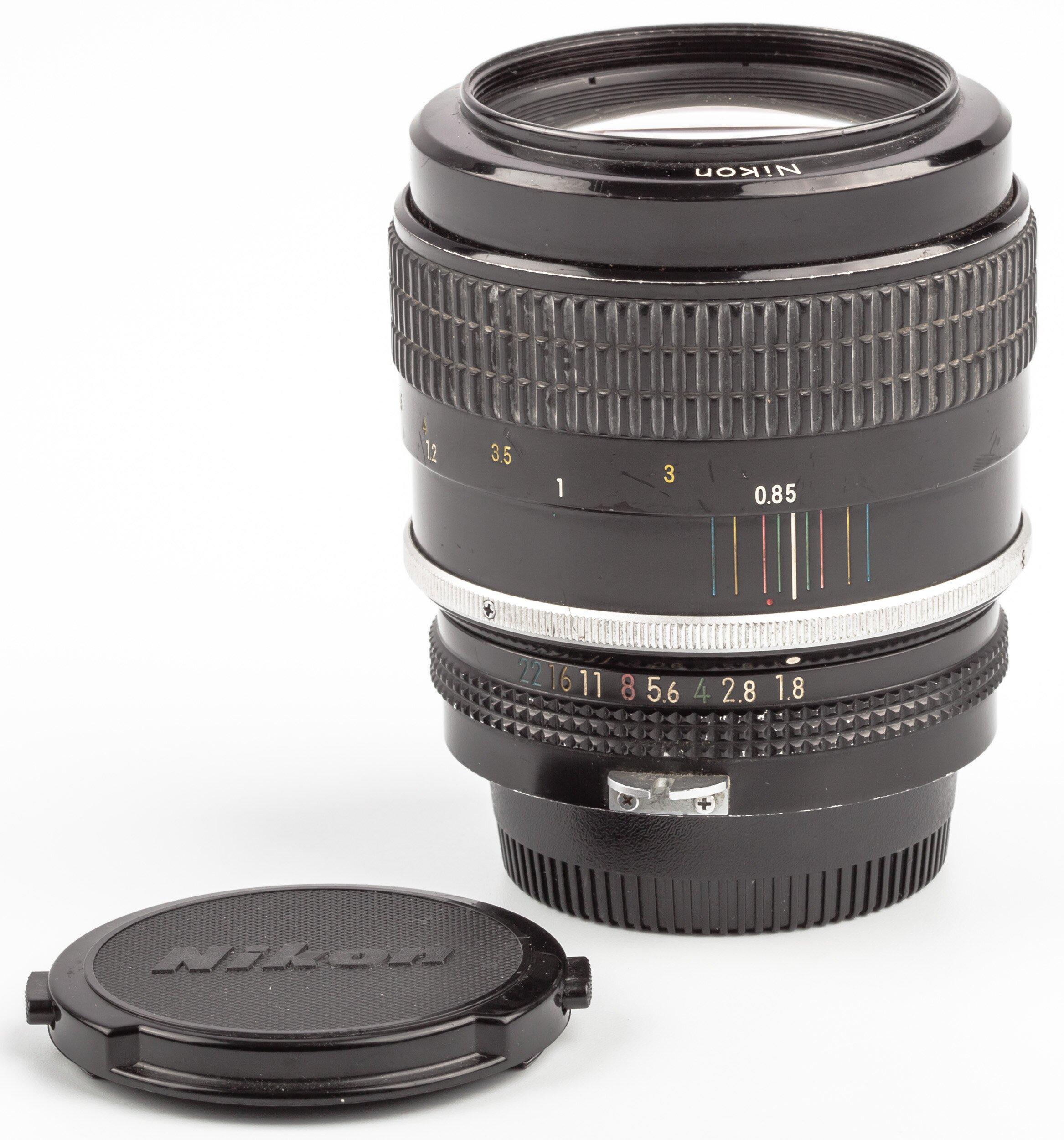 Nikon non AI 85mm 1,8 Nikkor