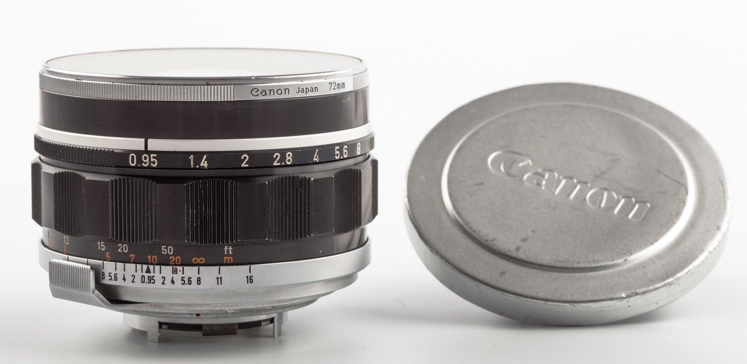 Canon RF Canon Lens 50mm 0,95