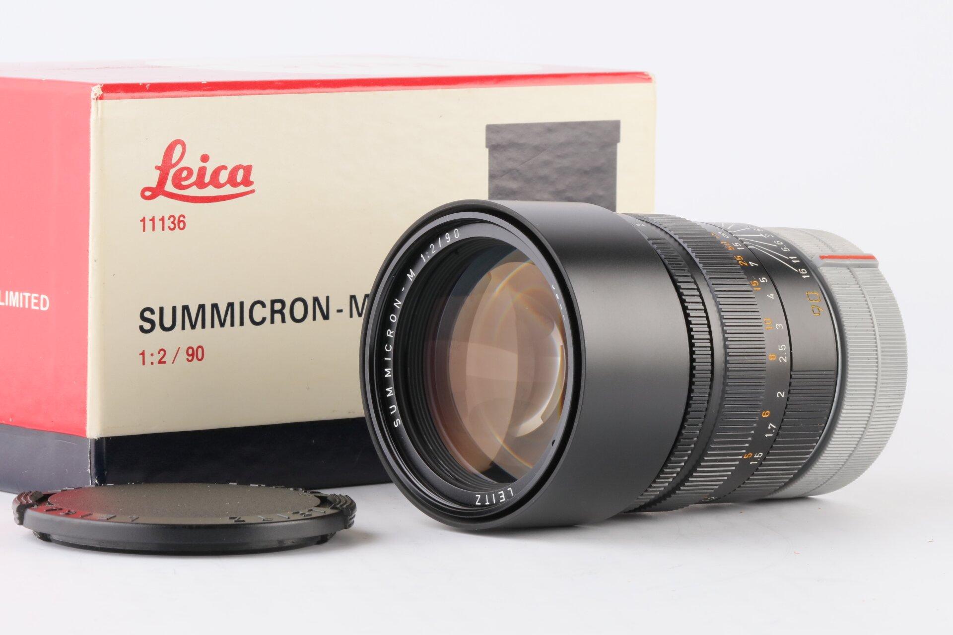 Leica M Summicron-M 2/90mm E55 11136