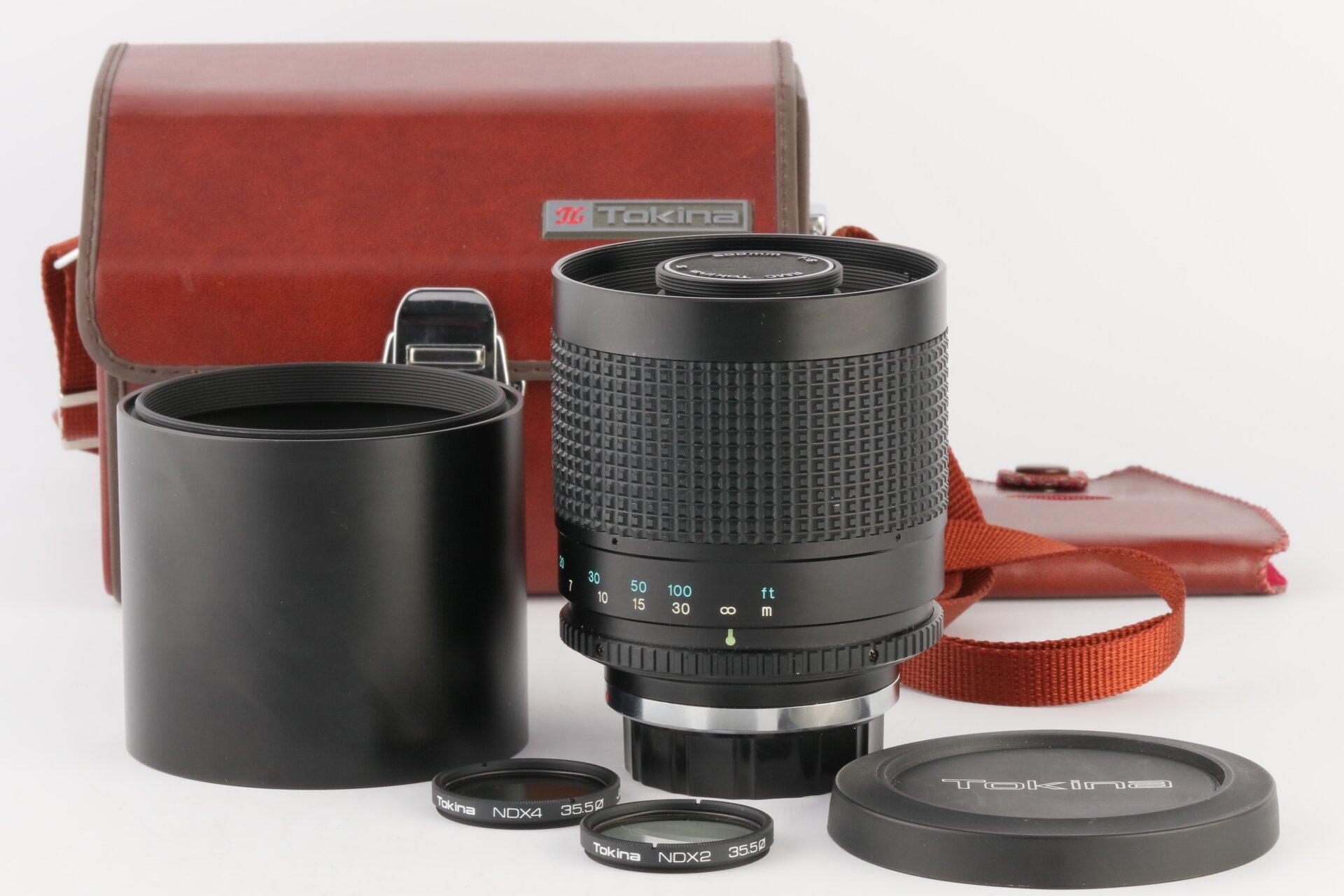 Tokina Siegelobjektiv 500mm 8 RMC Contax/Yashica