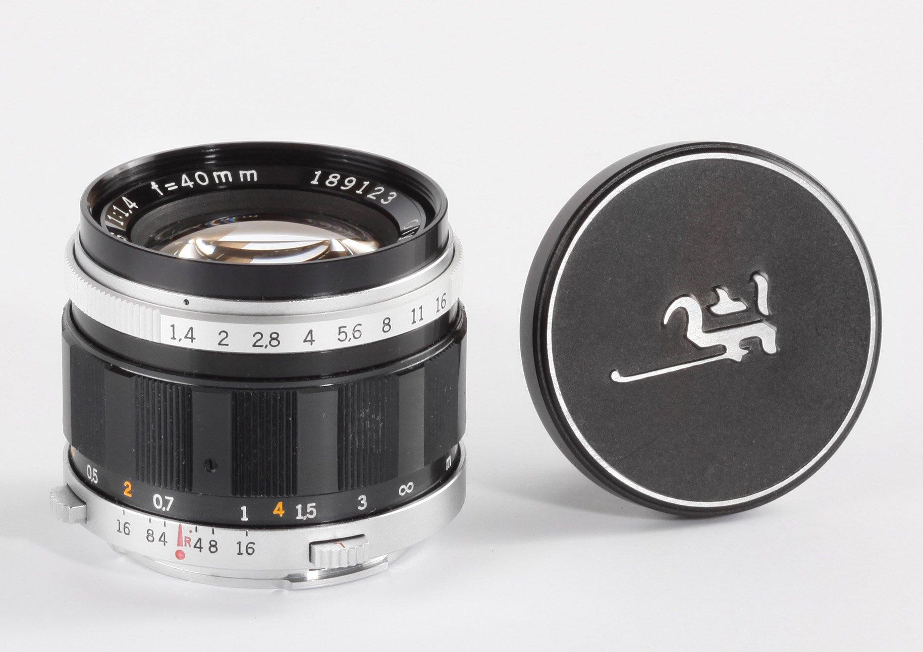 Olympus G.Zuiko Auto-S 1,4/40mm PEN