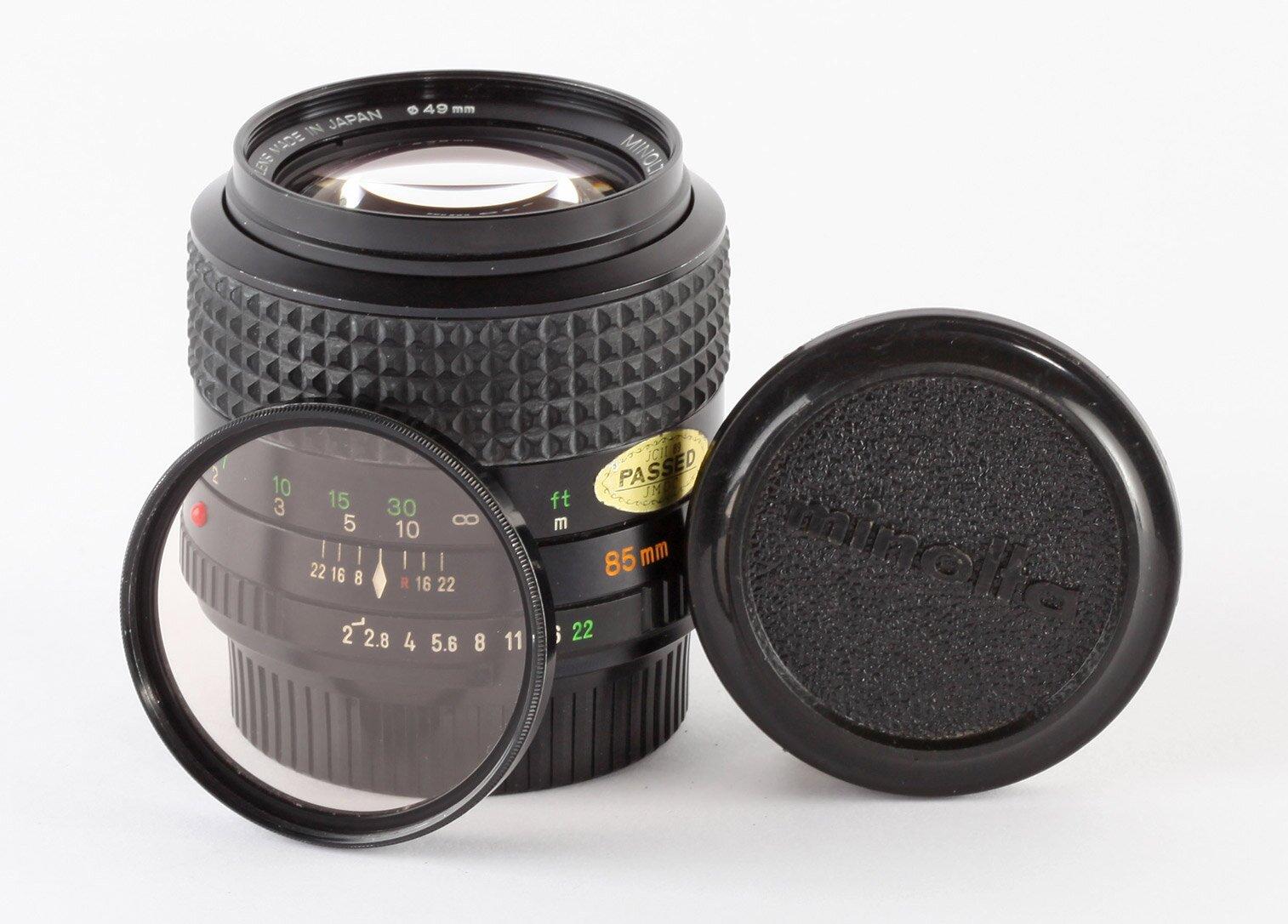 Minolta MD Rokkor 85mm/2,0