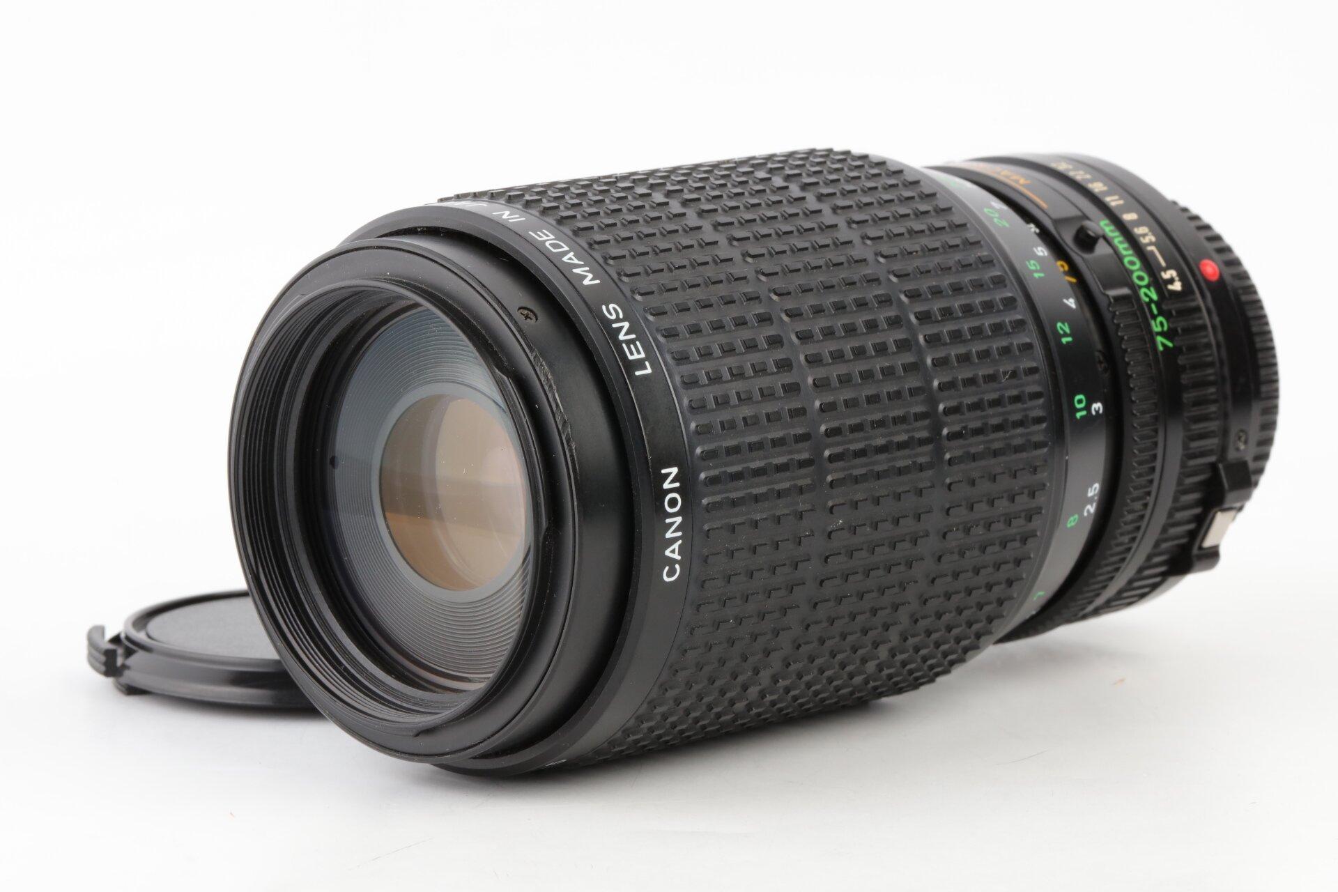 Canon FD 75-200mm 4,5 Zoom