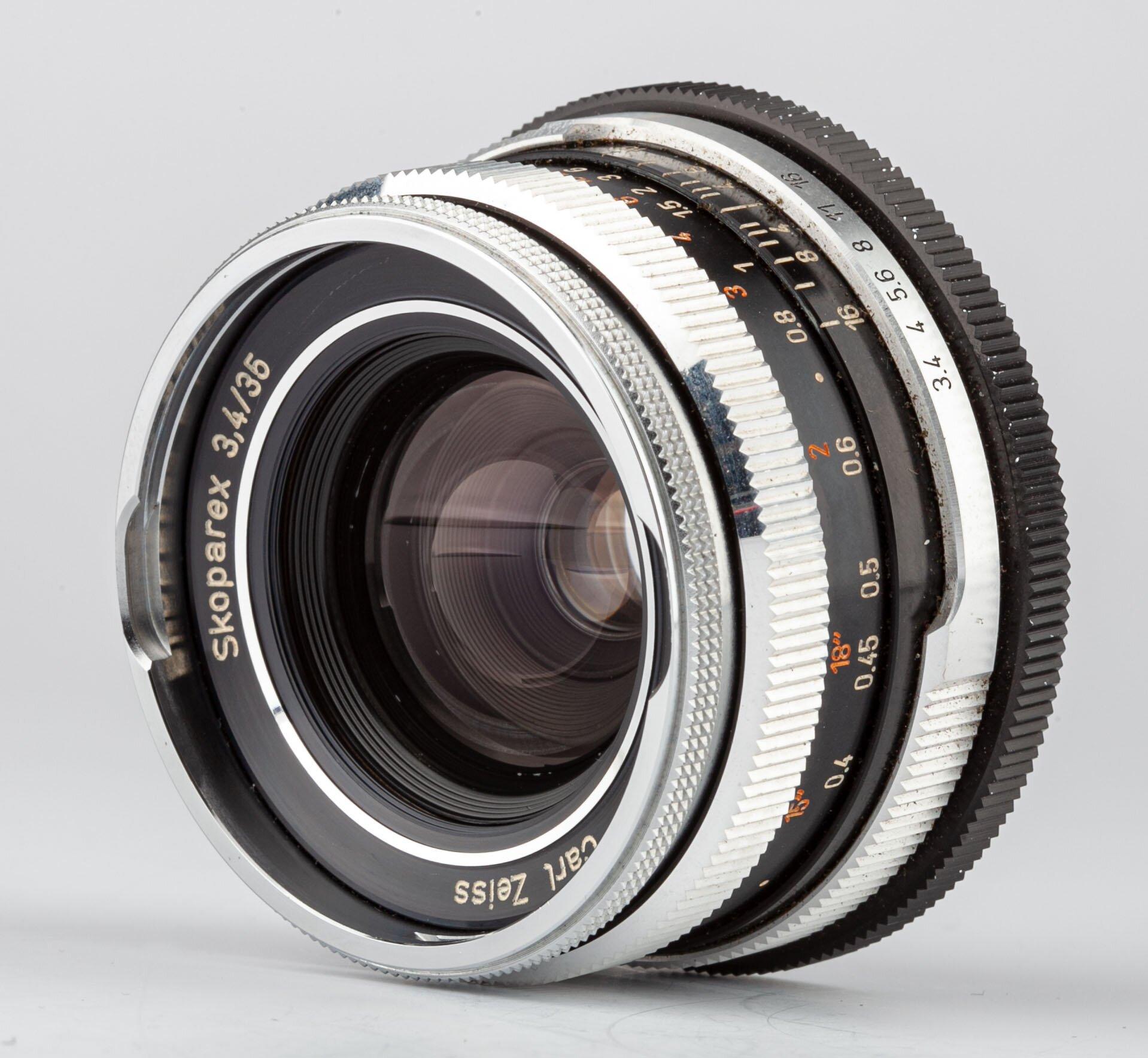 Carl Zeiss Skoparex 3,4/35mmn BM f. Icarex