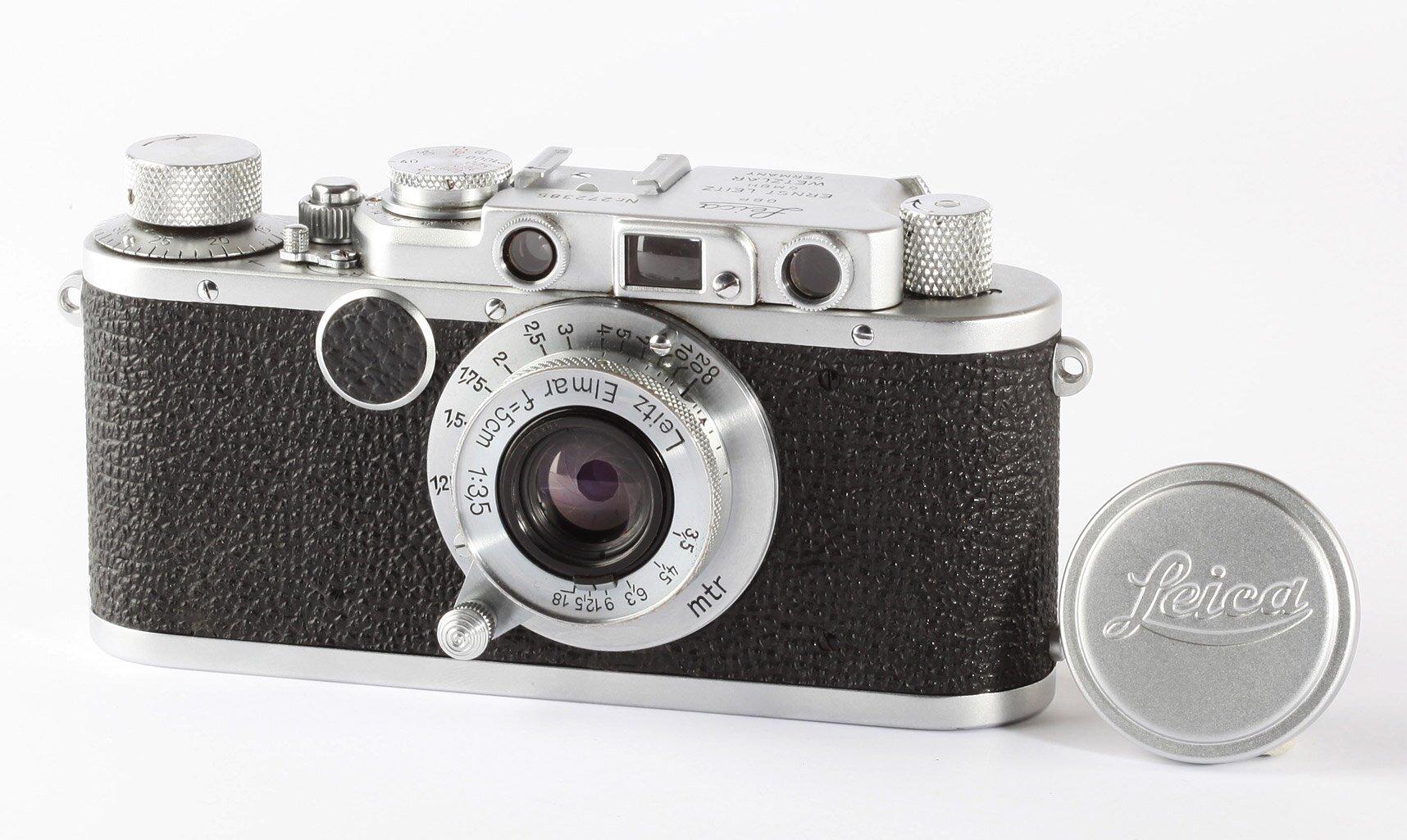 Leica II Bj.1938 chrom + Leica Elmar 5cm/3,5