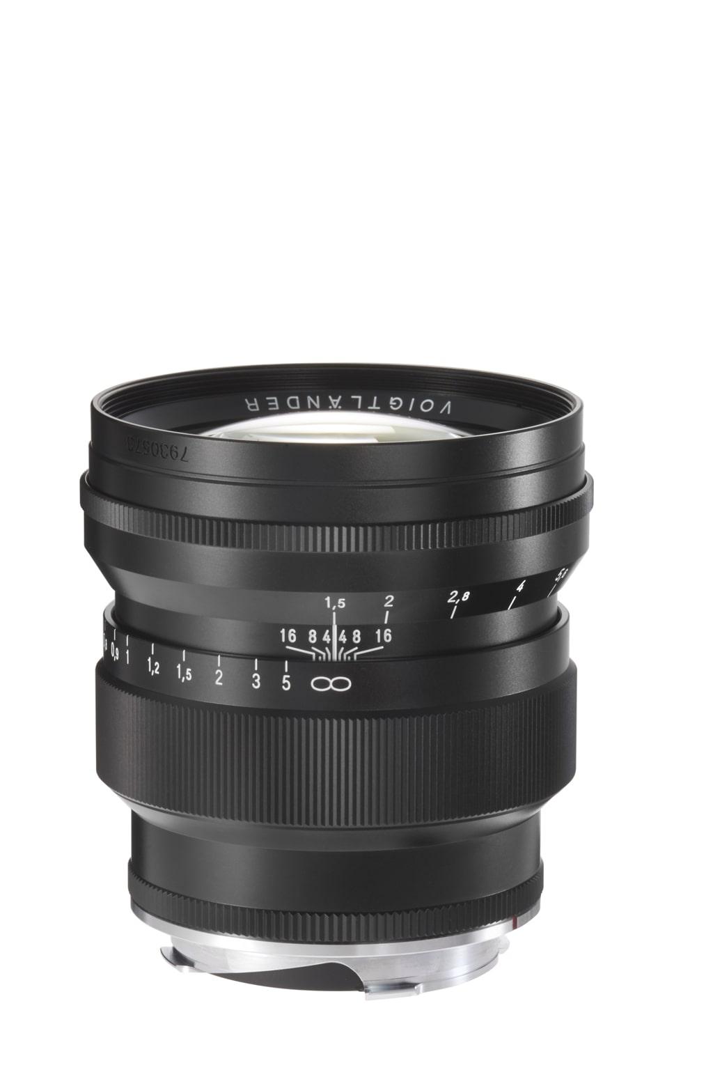 Voigtländer VM 75mm 1,5 Nokton Leica M schwarz