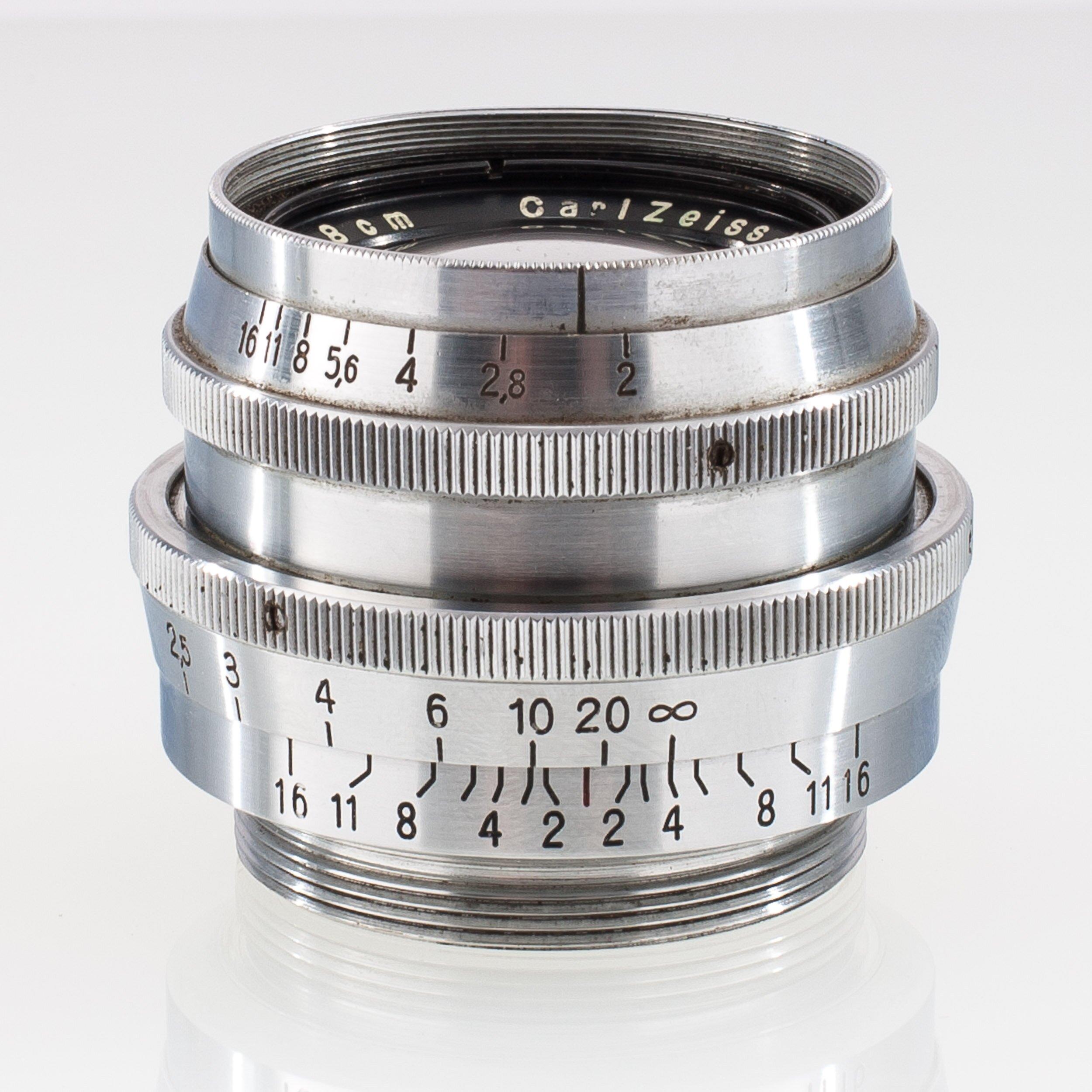 Carl Zeiss M40 f. Praktiflex 2/5,8cm Biotar