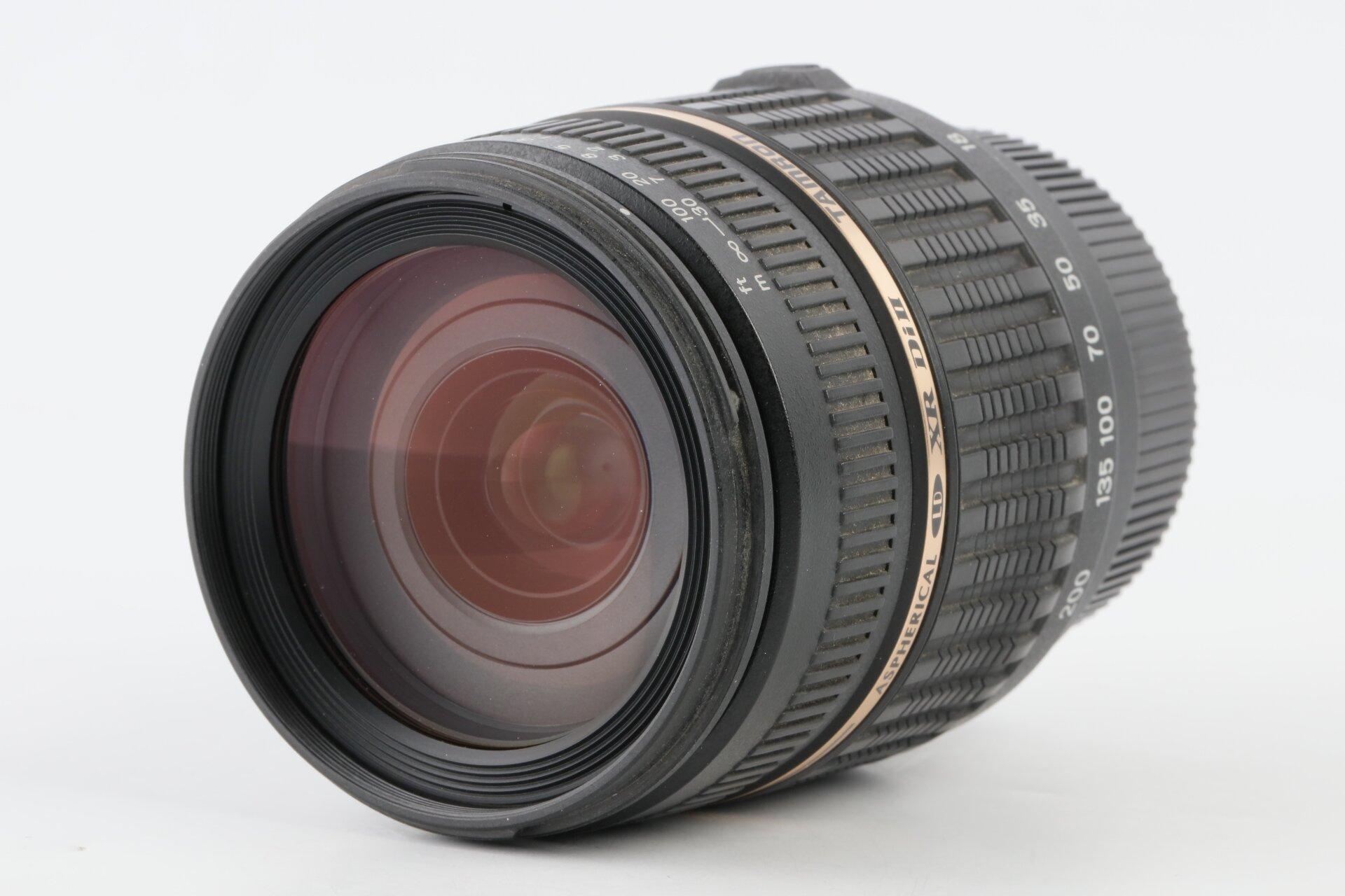 Tamron AF 18-200mm 3,5-6,3 IF Macro Aspherical LD XR Di II Pentax K