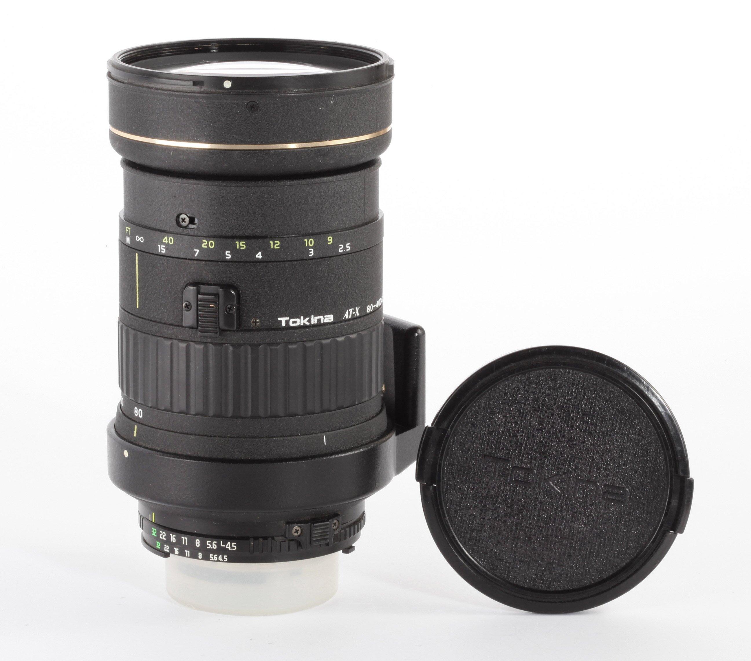 Tokina AT-X 80-400mm 4,5-5,6D f.Nikon