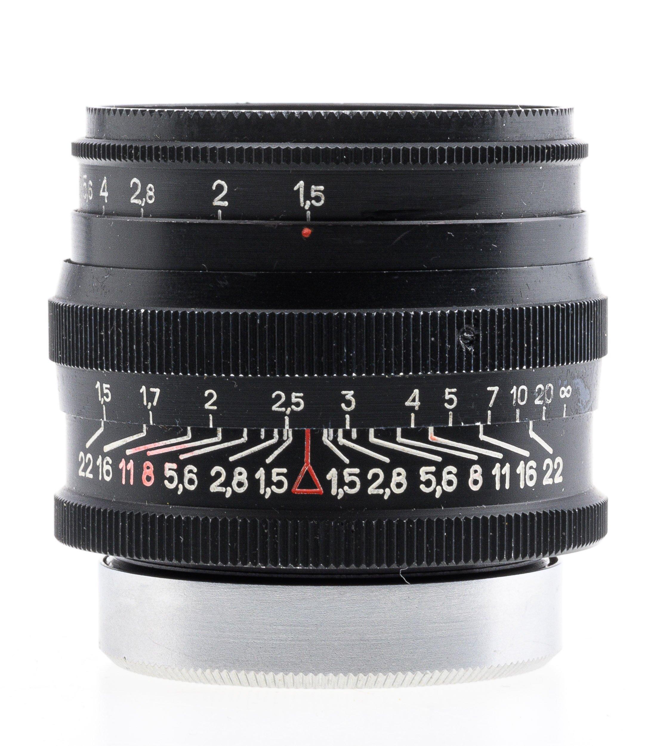 Jupiter-3 1.5/50 M39 50mm f1.5 schwarz