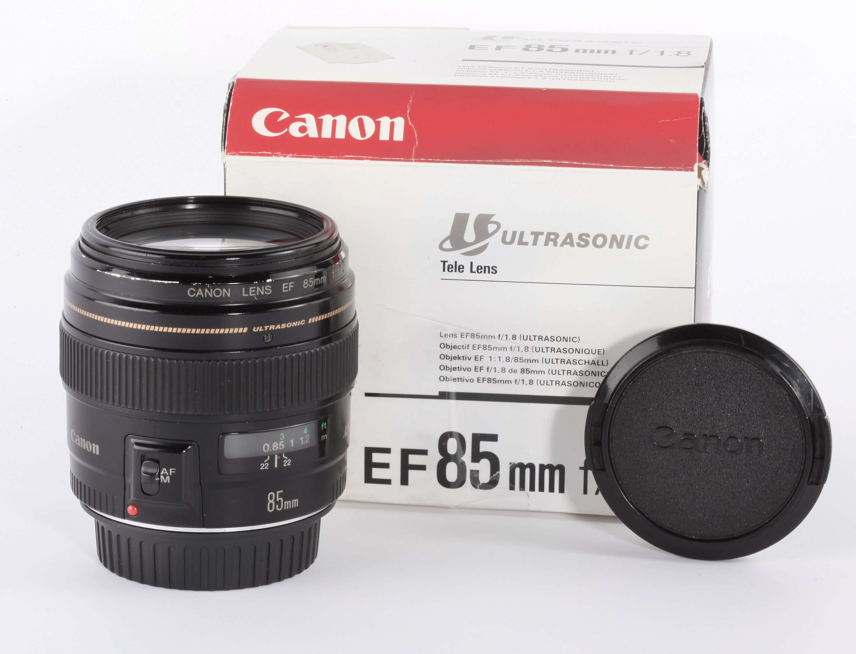 Canon EF 85mm 1,8