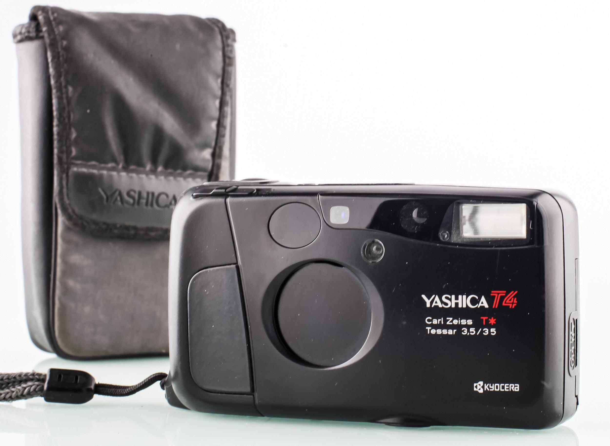 Yashica T4 Carl Zeiss T* Tessear 3,5/35mm