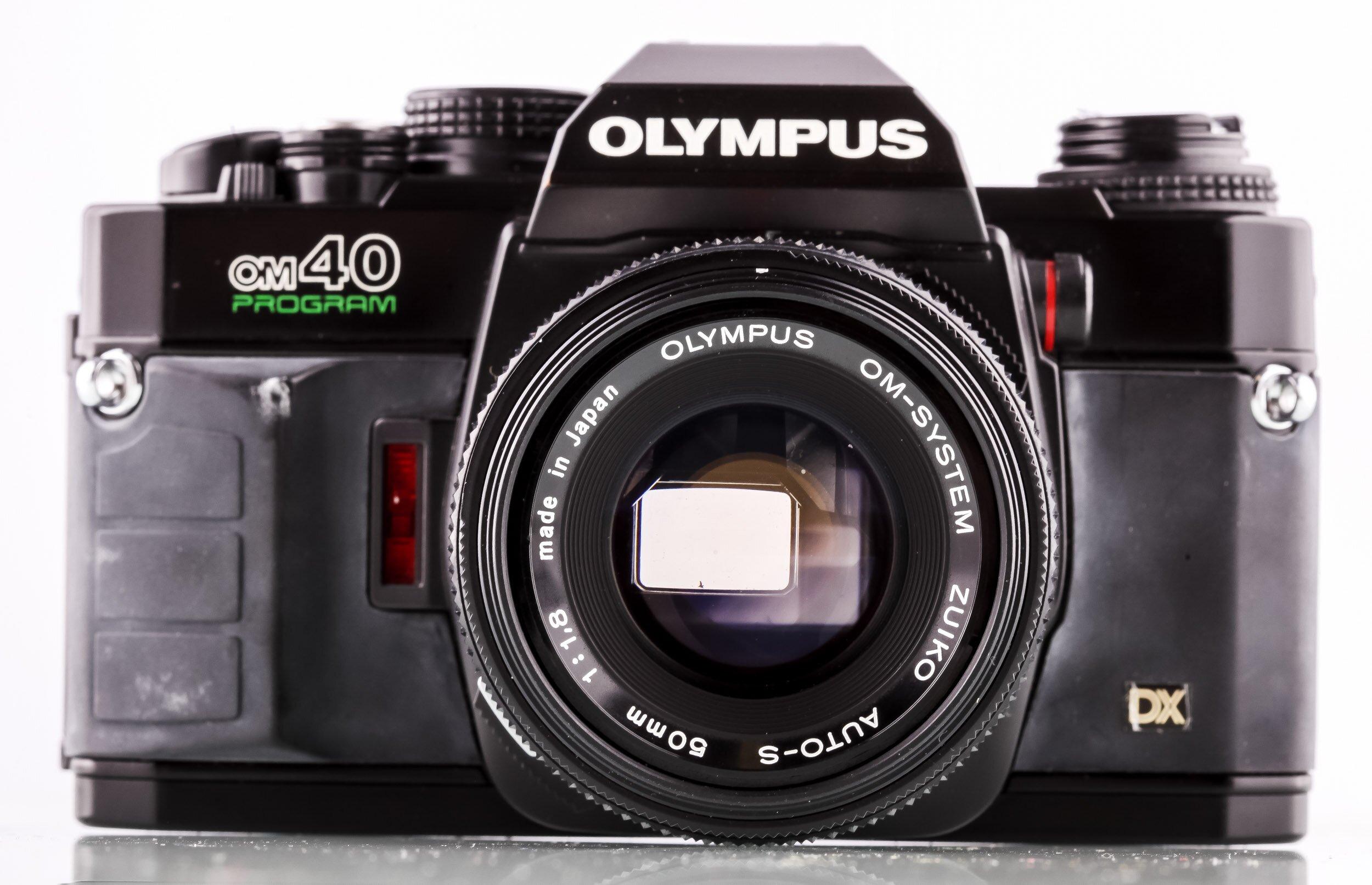 Olympus OM40 Program + Olympus OM-System 50mm/1,8