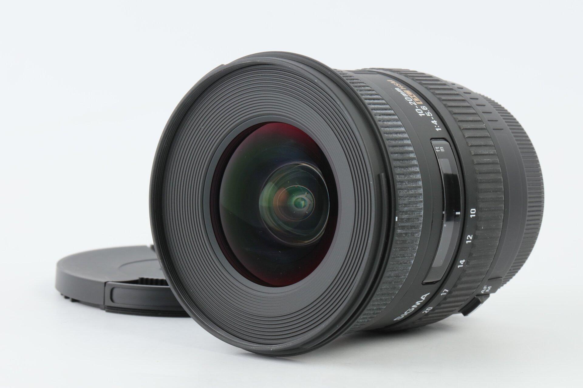 Sigma AF 10-20mm 4-5,6 DC EX HSM Canon EF-S