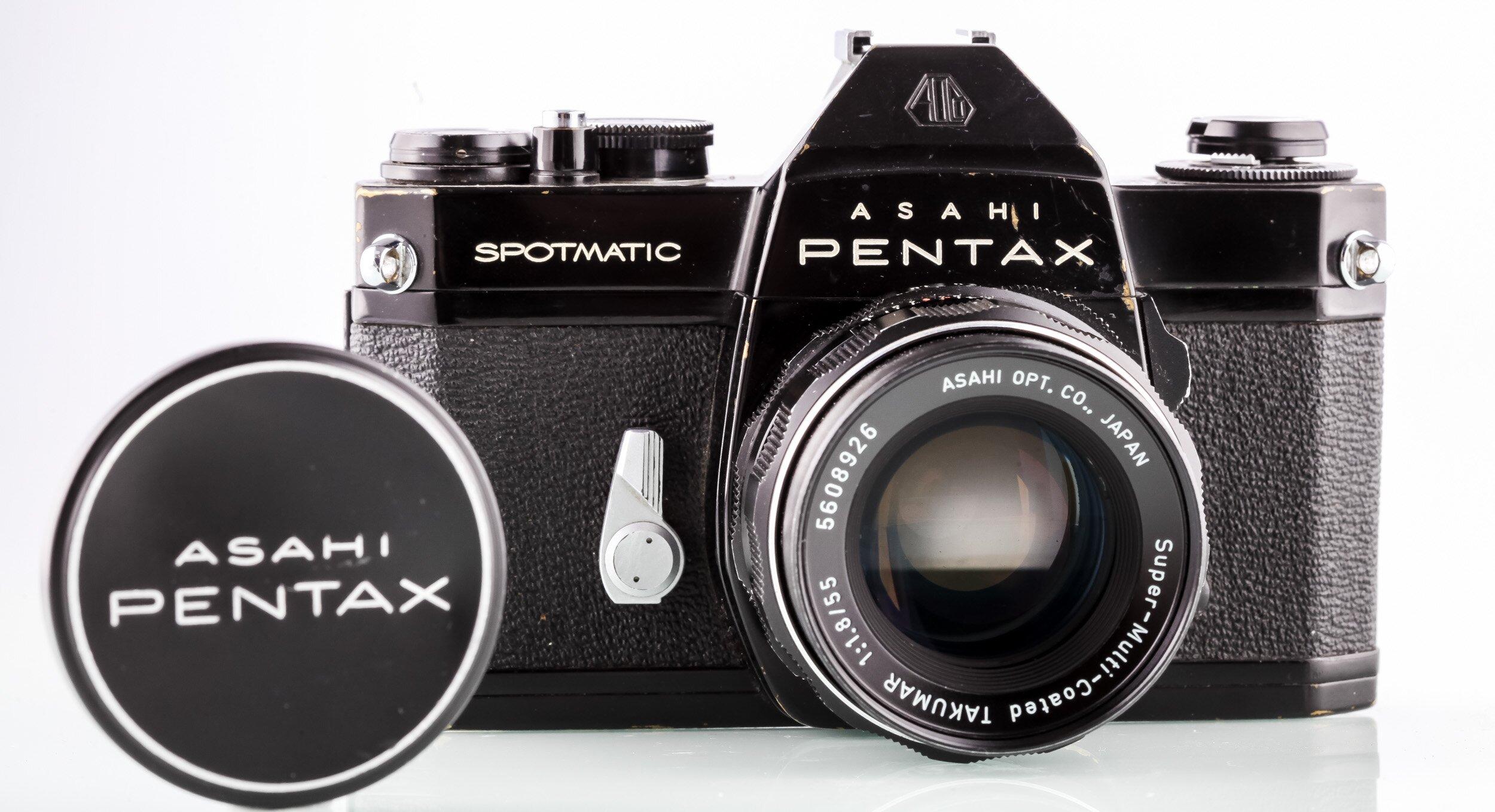 Pentax Spotmatic SP II+ Super-Multi-Coated Takumar 1,8/55mm