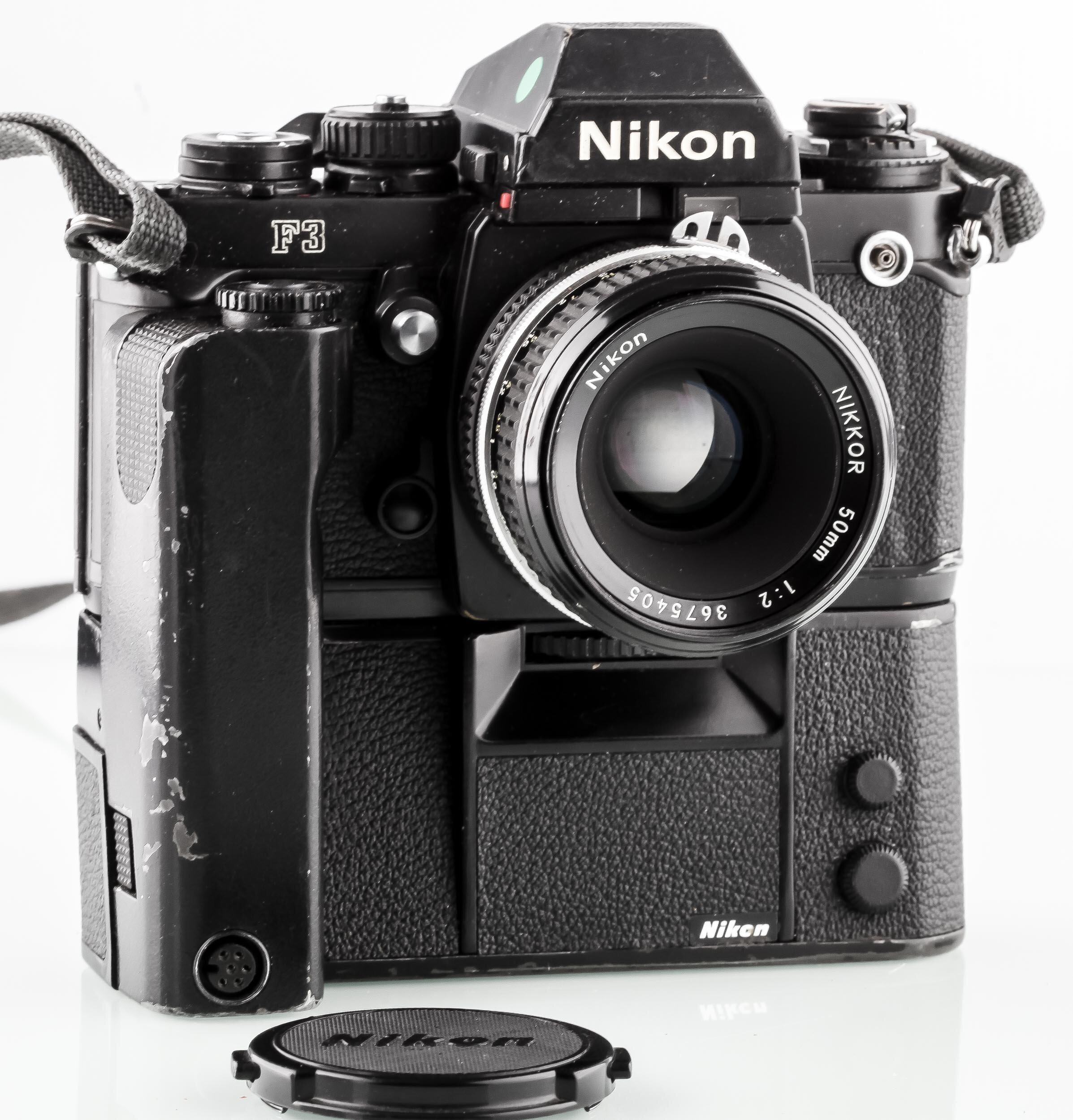 Nikon F3 - MD4 - Nikon 50mm/2,0
