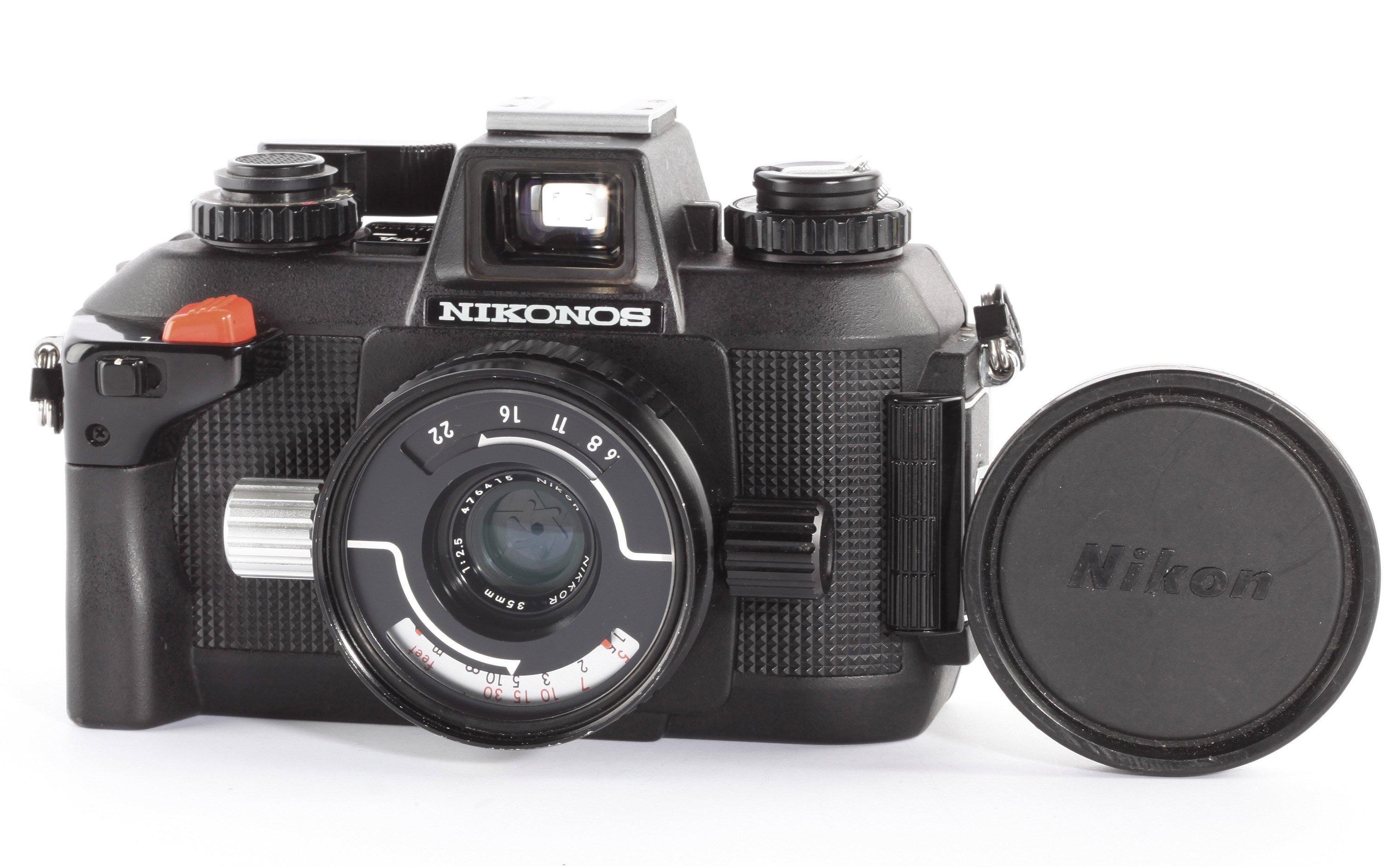 Nikon Nikonos IV-A + W-Nikkor 2,5/35