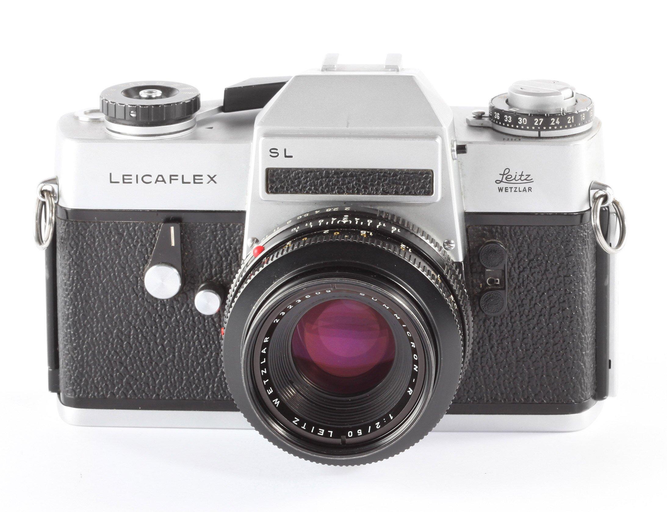 Leicaflex SL Leitz Summicron-R2/50mm