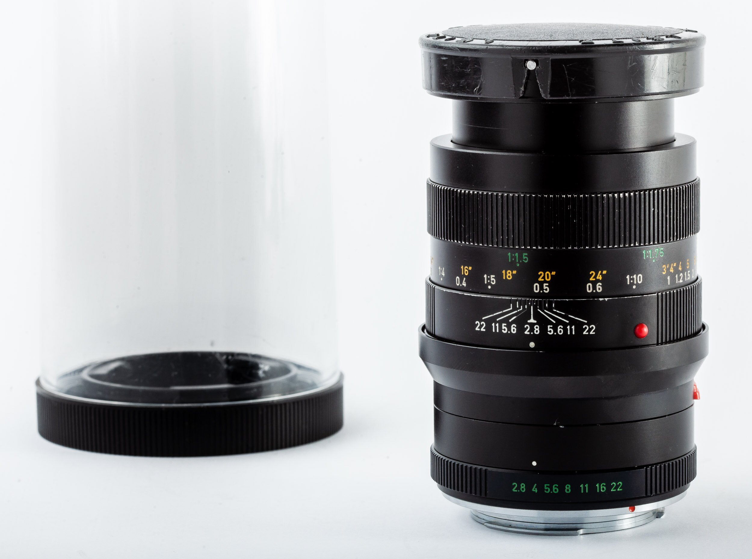 Leica Macro-Elmarit-R 2,8/60mm 3 CAM mit 1:1 Extender
