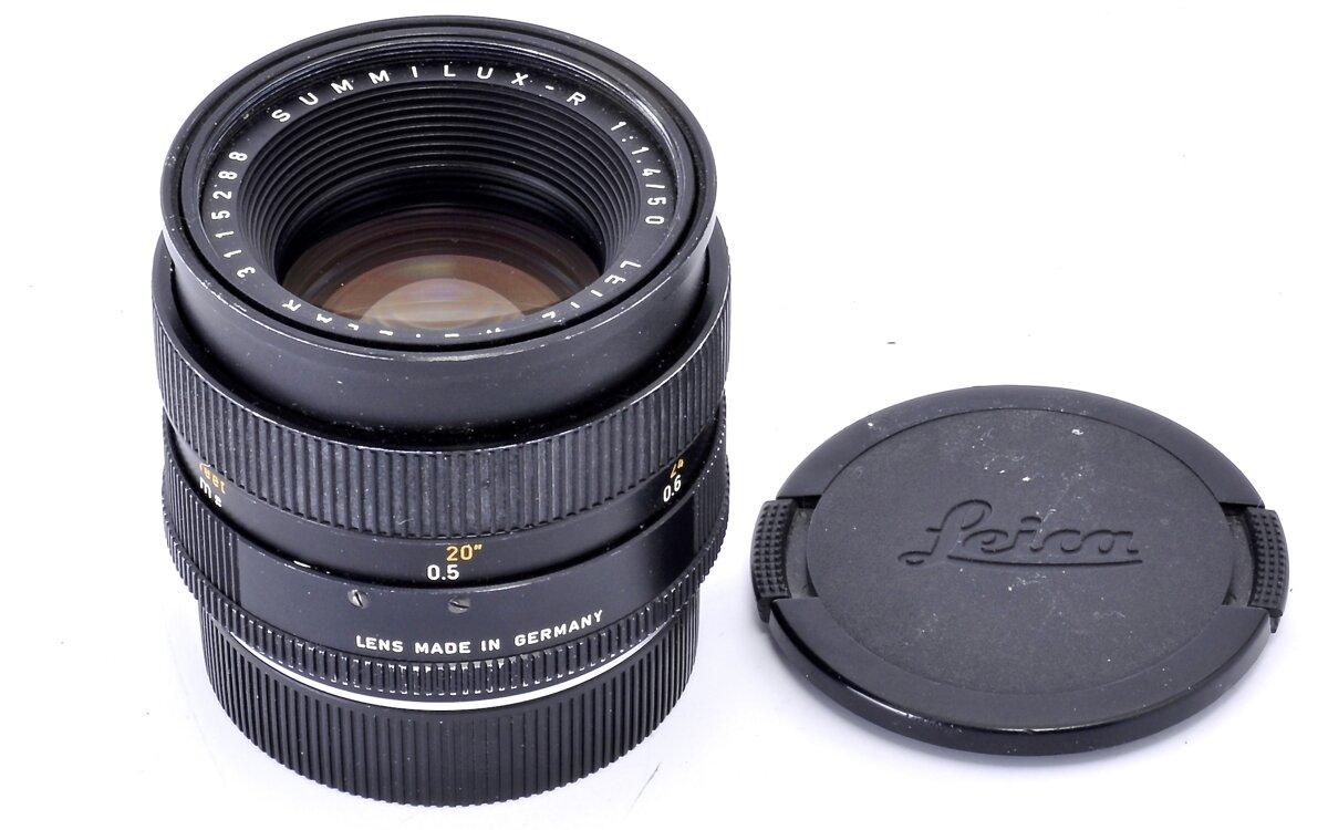 Leitz Leica R Summilux 50mm F1.4 Black