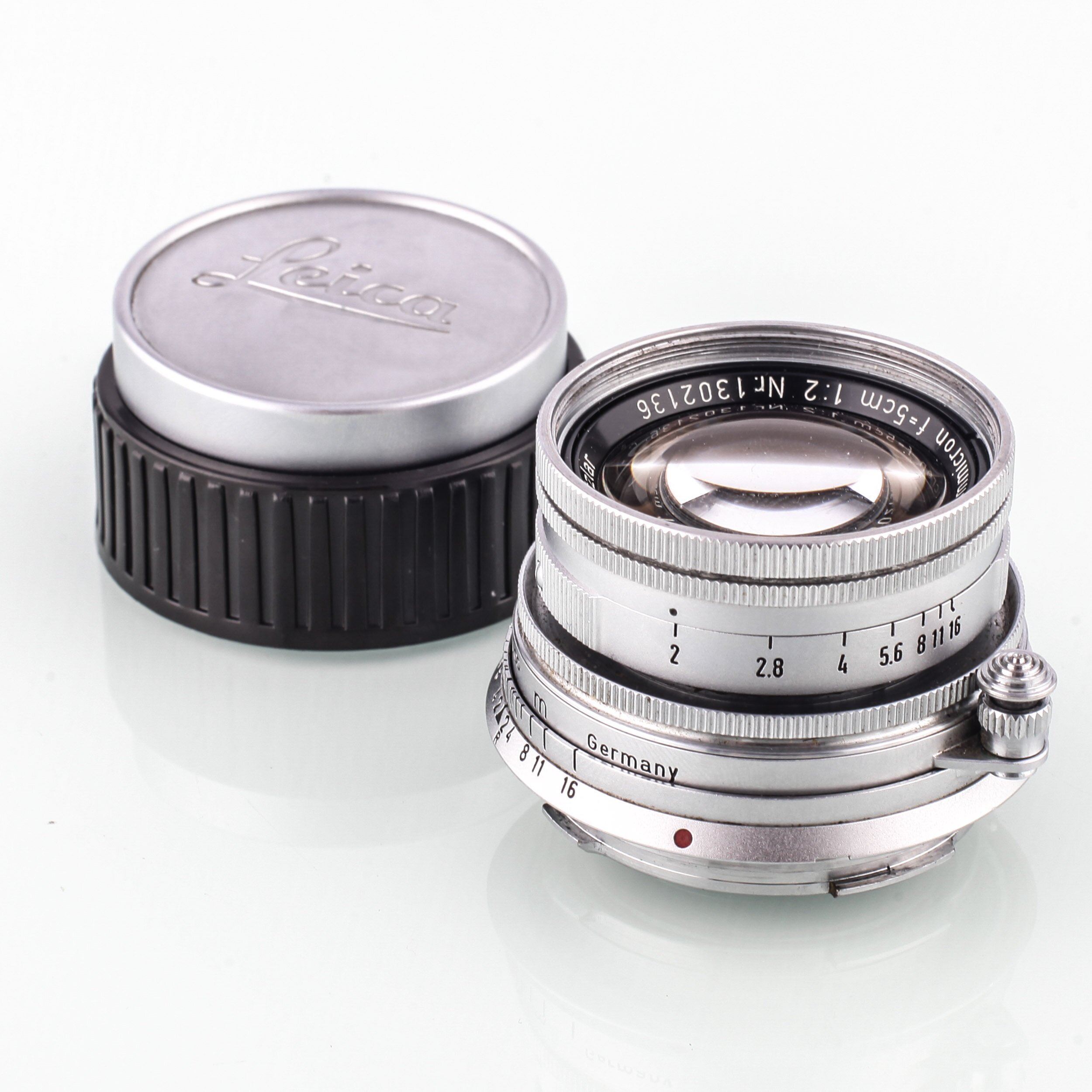 Leica M Summicron 5cm F2 versenkbar 10 blenden