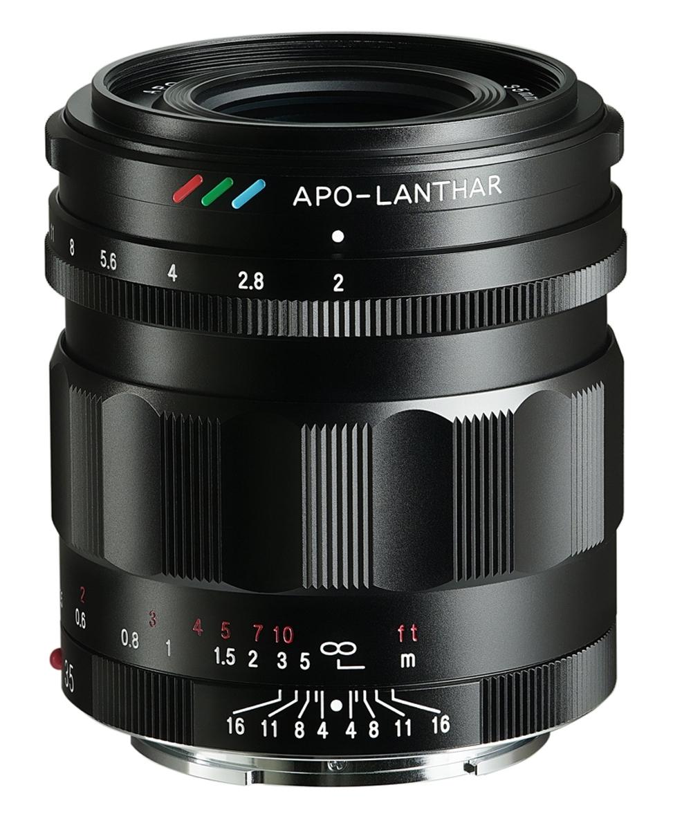 Voigtländer Sony E Mount 35mm 1:2,0 APO-LANTHAR schwarz
