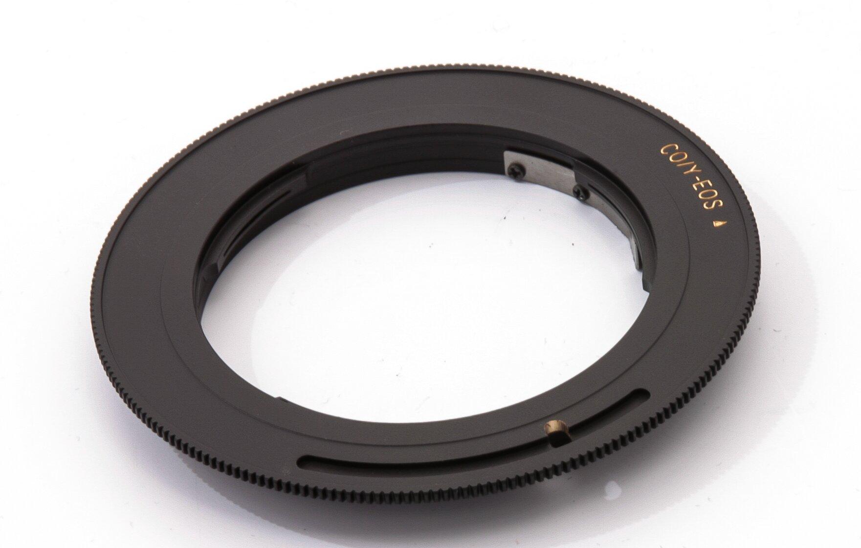Adapter Contax RTS Objektive an Canon EOS Gehäuse