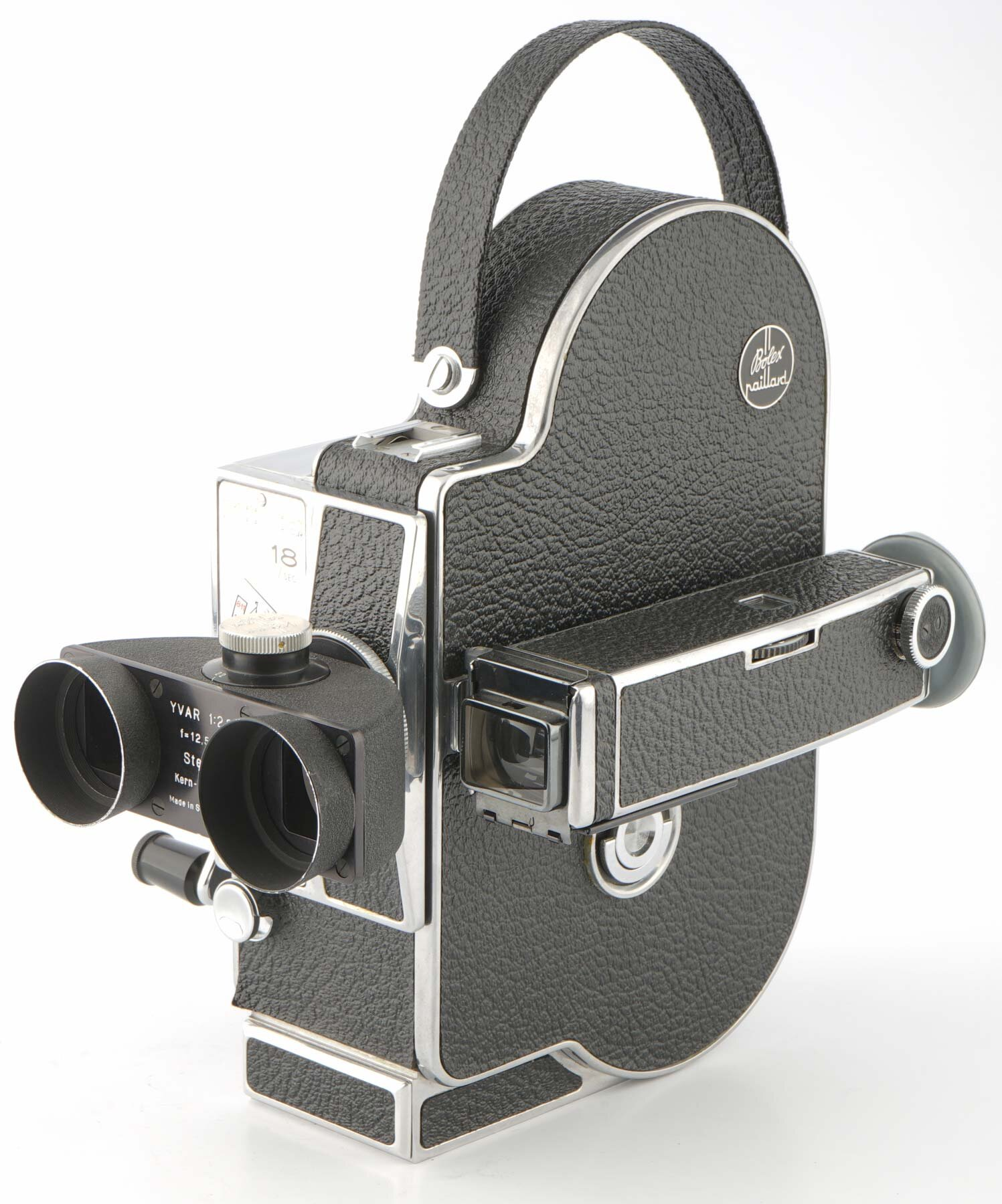 Bolex H16M mit Kern YVAR 2.8/12.5mm Stereo