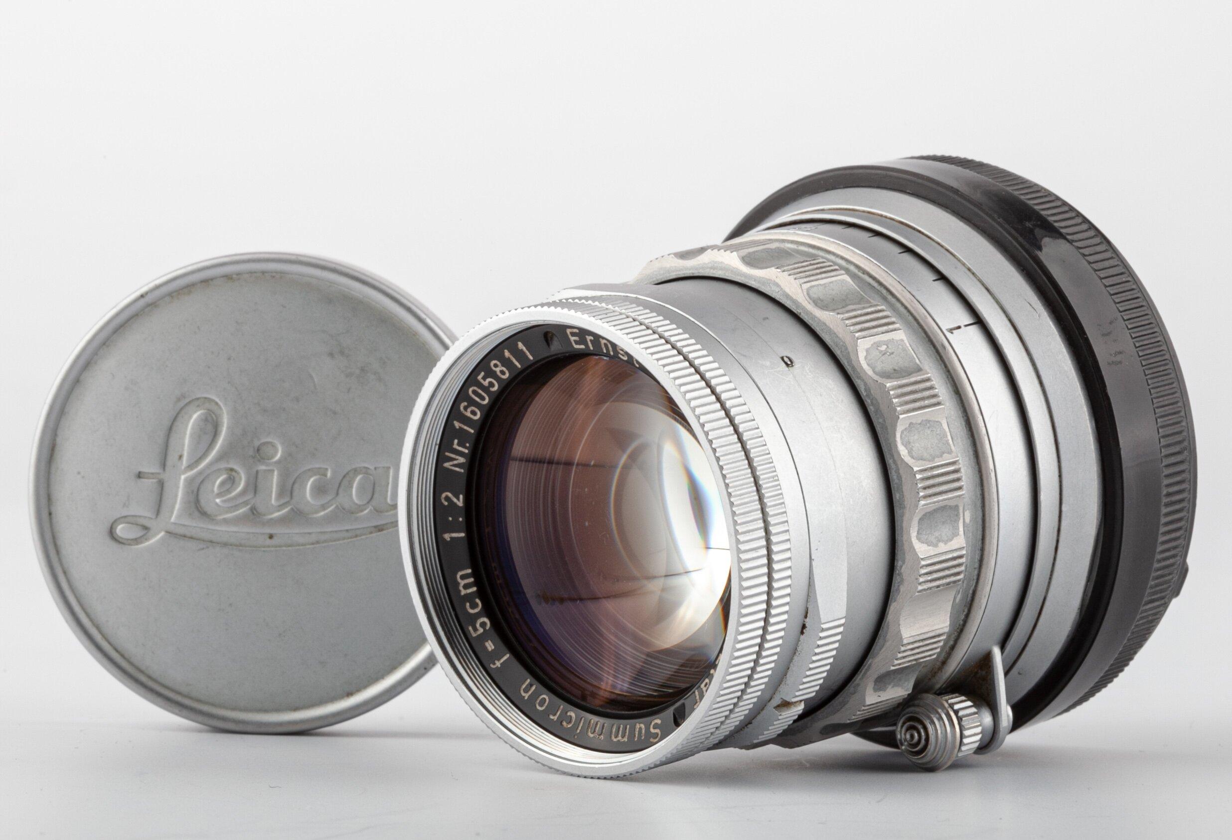 Leitz Leica M Summicron 5cm F2.0 Chrome