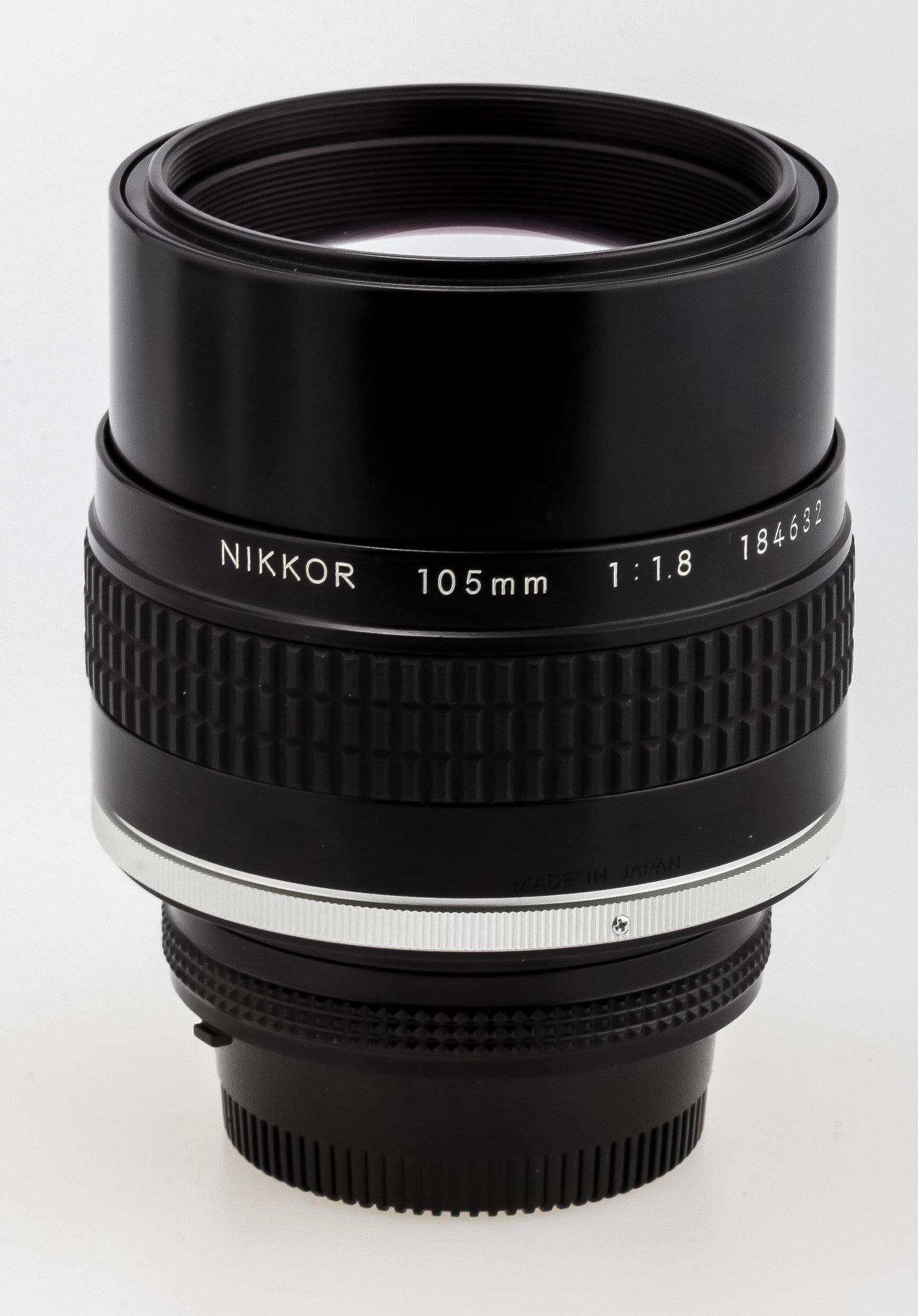 Nikon AI-S 1,8/105mm
