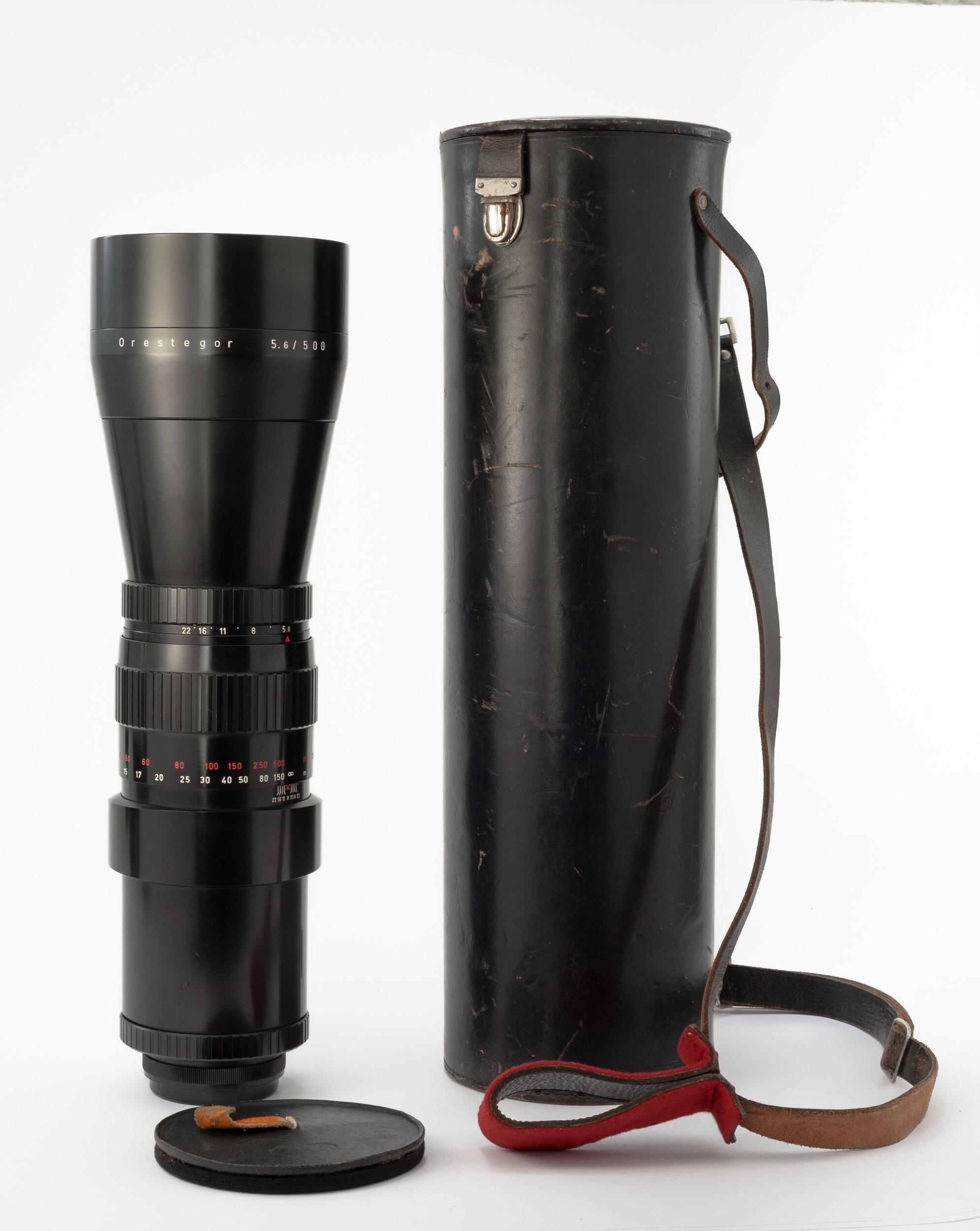 Meyer f. Pent.-six 5,6/500mm Orestegor