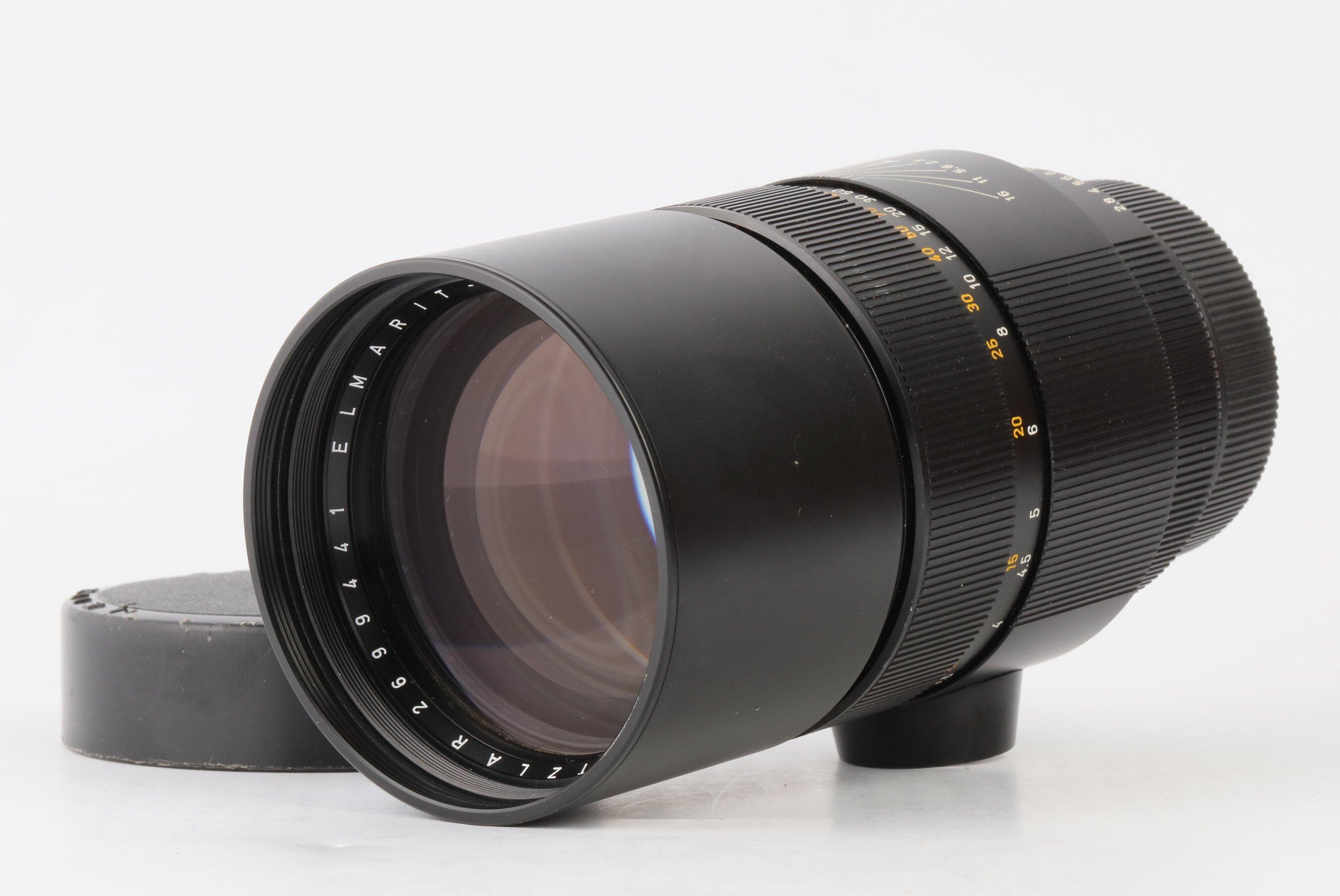Leica 2,8/180mm Elmarit-R 3CAM