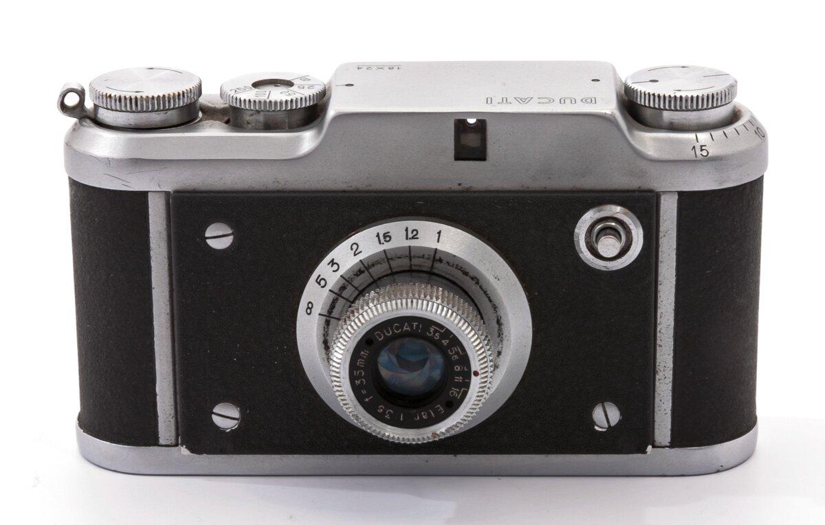 Ducati Simplex  Etar 3,5/35mm Microcamera Halbrahmen 18x24 italienische Kamera Leica Kopie Italien