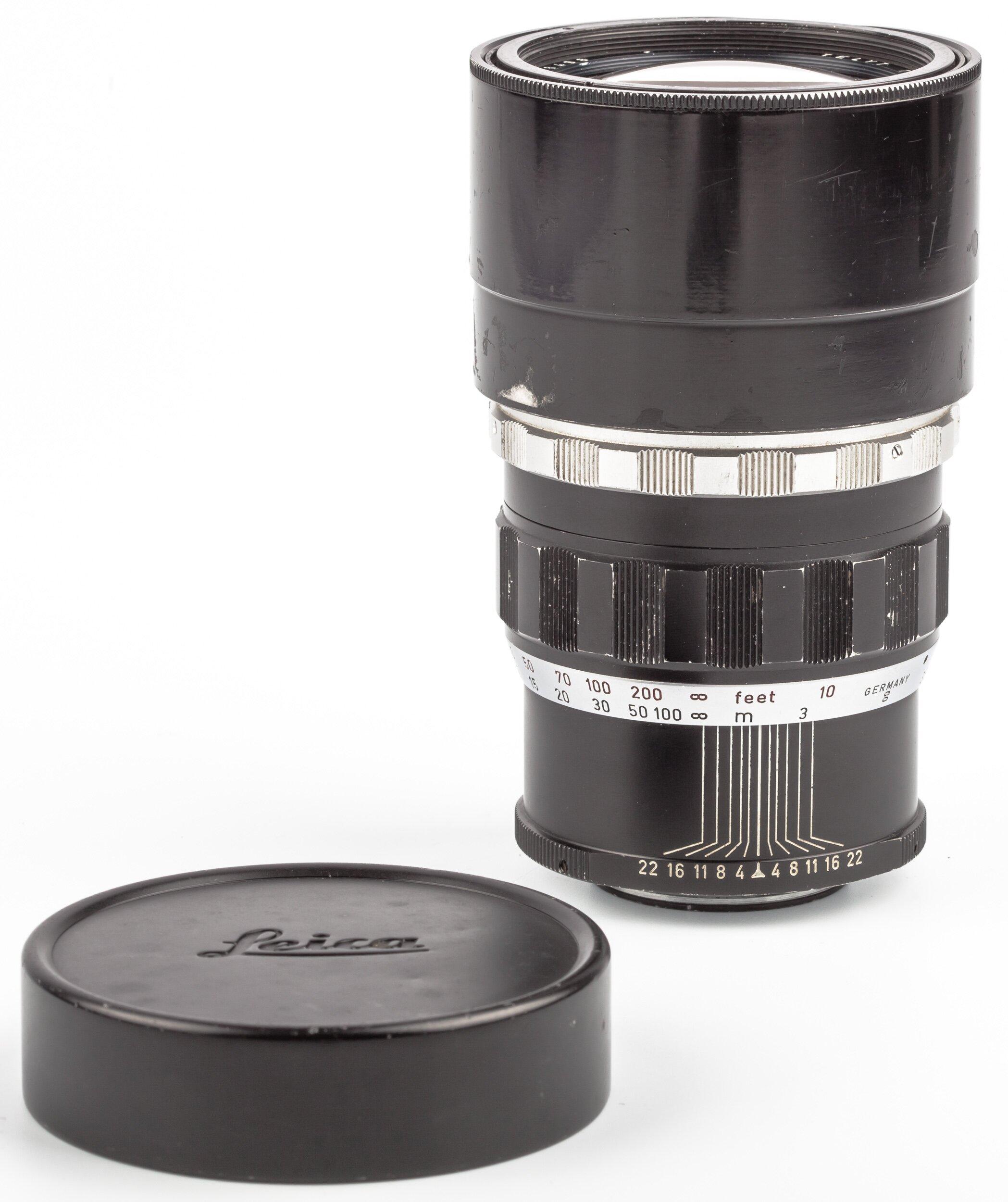 Leica  Visoflex 200mm 4 Telyt   11063