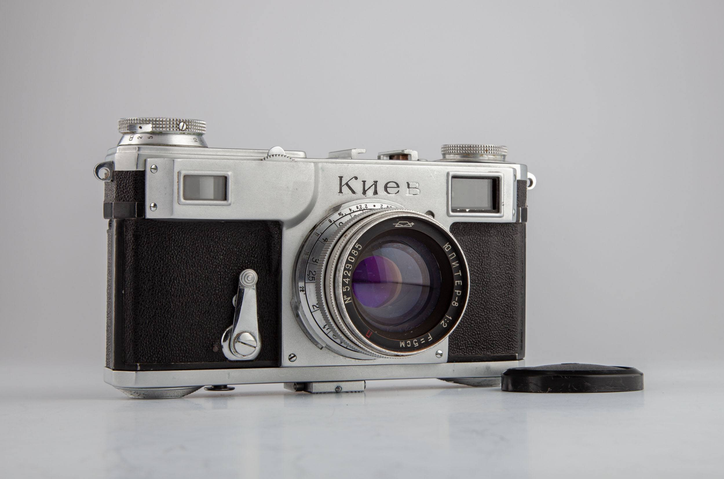 Kiev 2 Bj.1954 Objektiv 2/5cm