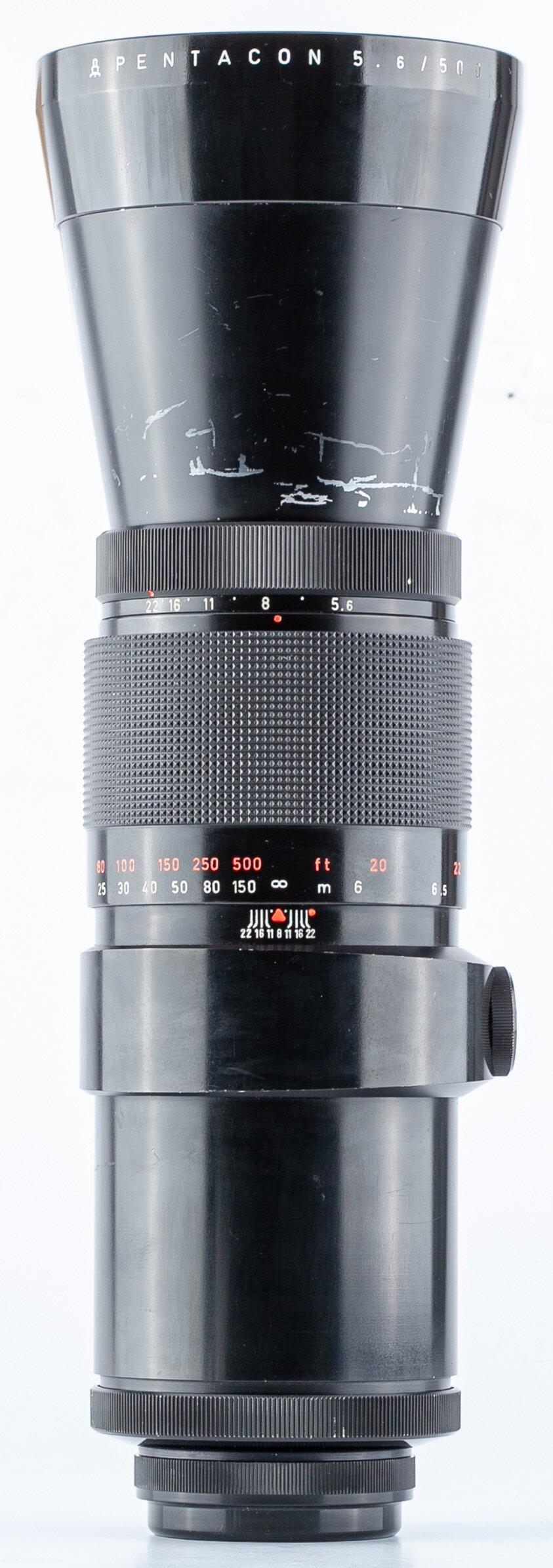 Pentacon 5,6/500mm MC Pentacon six