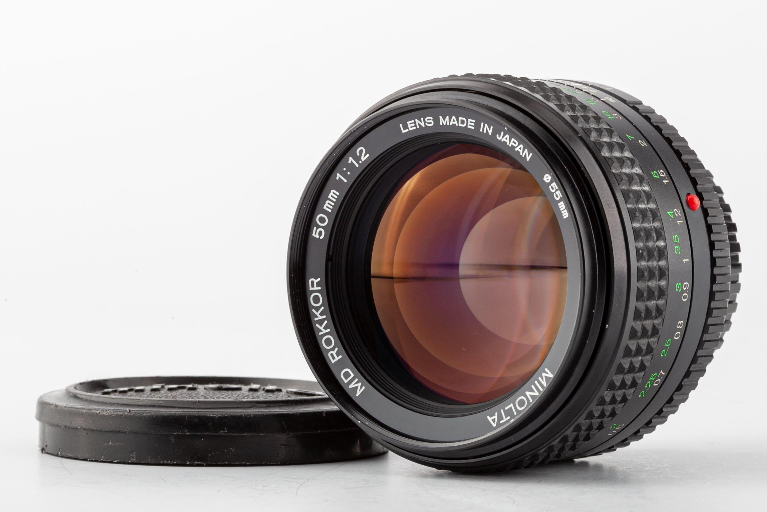 Minolta Rokkor MD 50mm/1,2