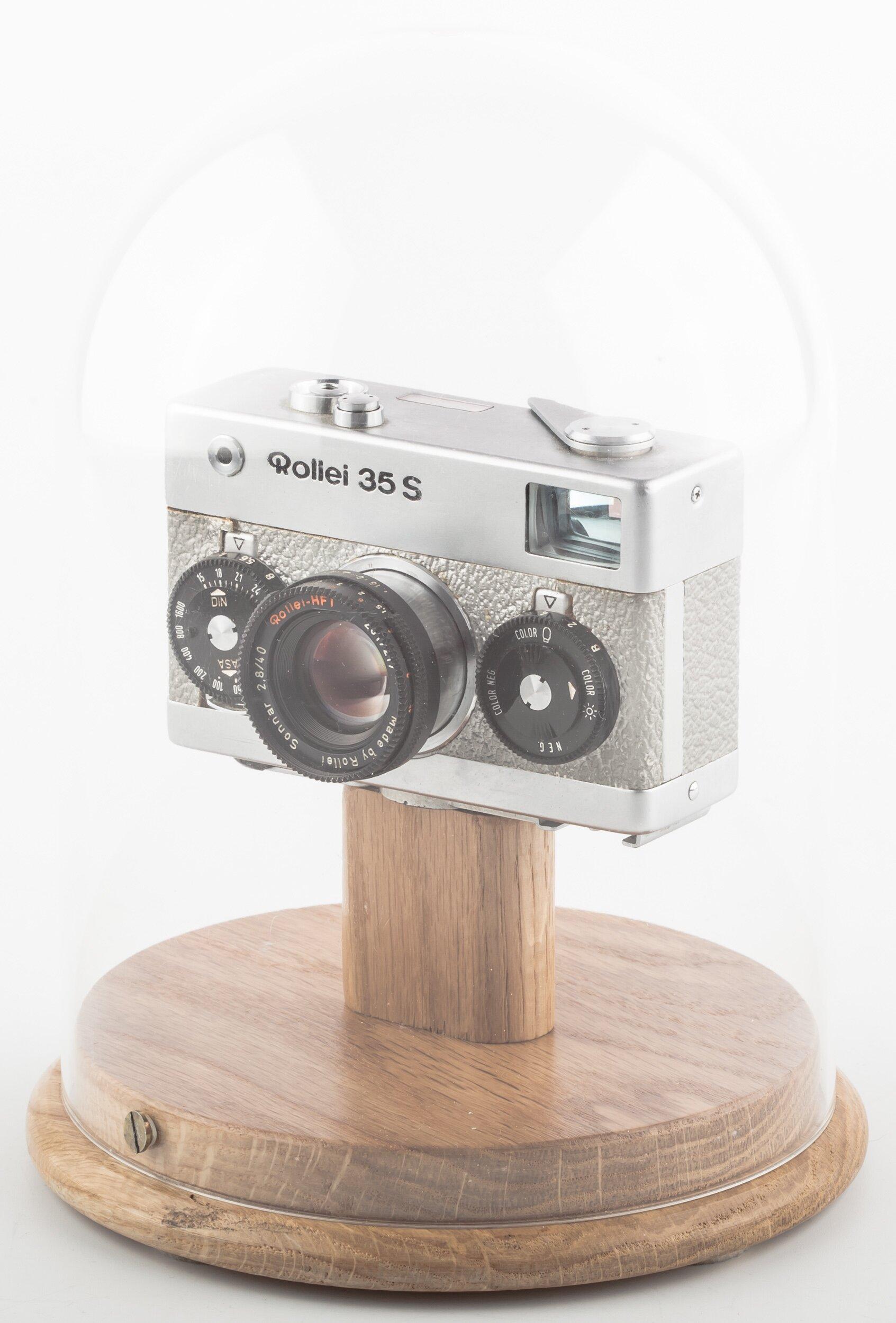 Rollei 35 S silber mit Sonnar 2,8/40mm HFT Limited Edition