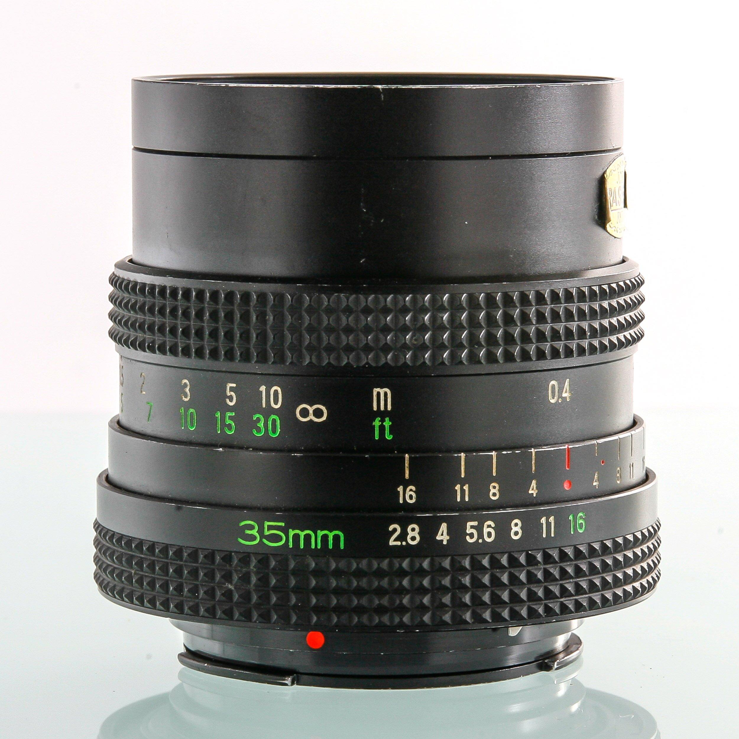 Rollei SLR F2.8 35mm Rolleinar MC