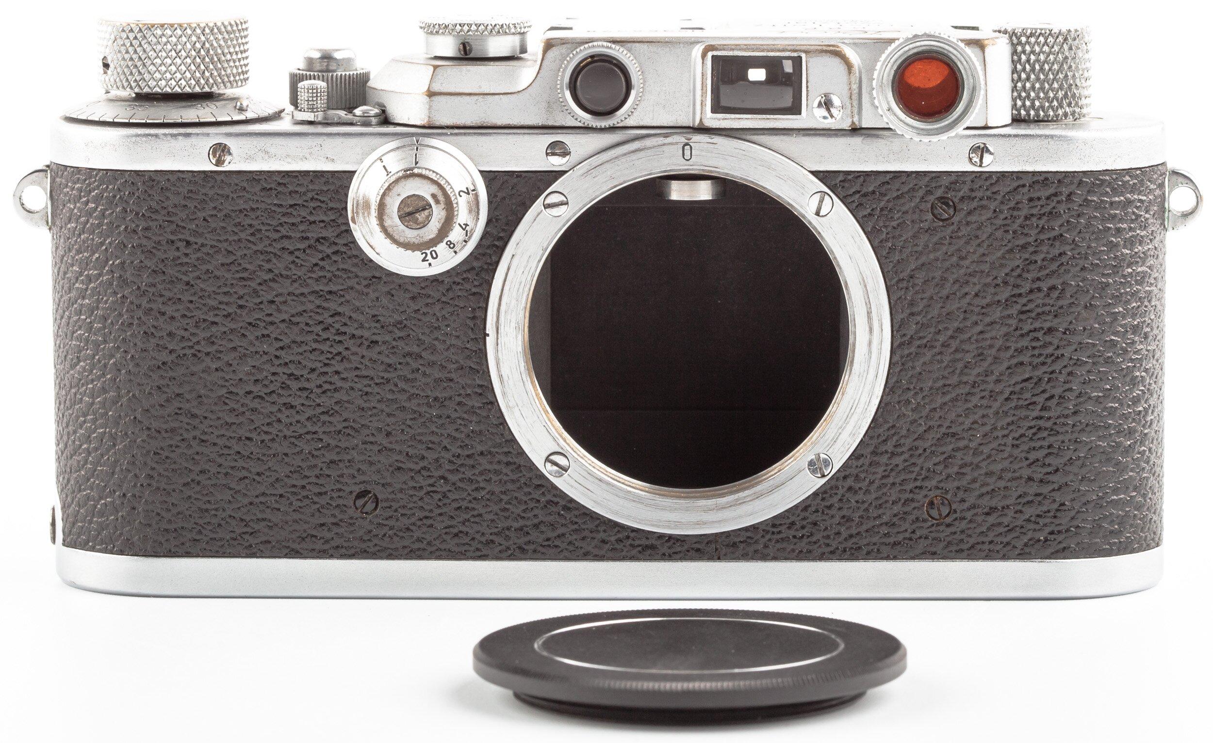 Leica IIIa Monte en Sarre original condition 1949 Y. RARE