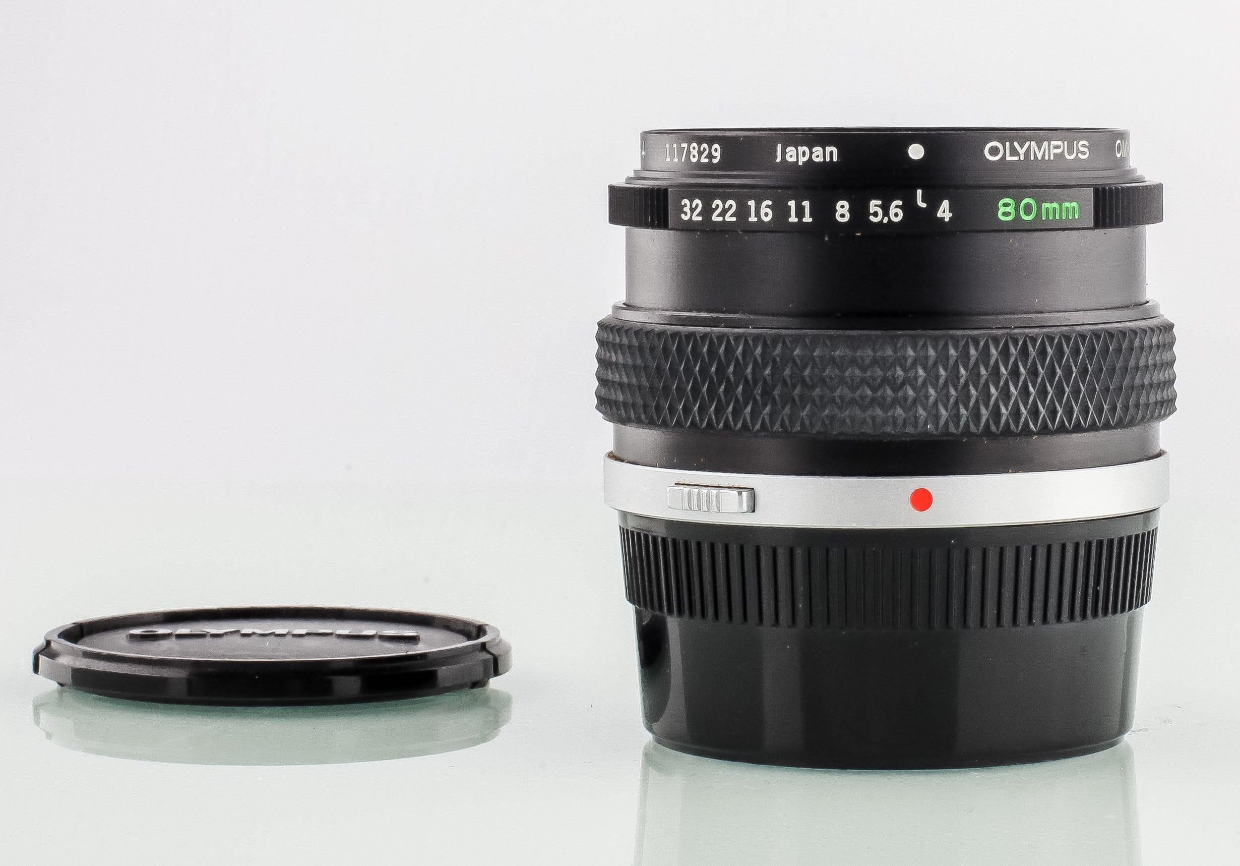 Olympus OM-System 1:1 Makro 80mm 4,0 Auto