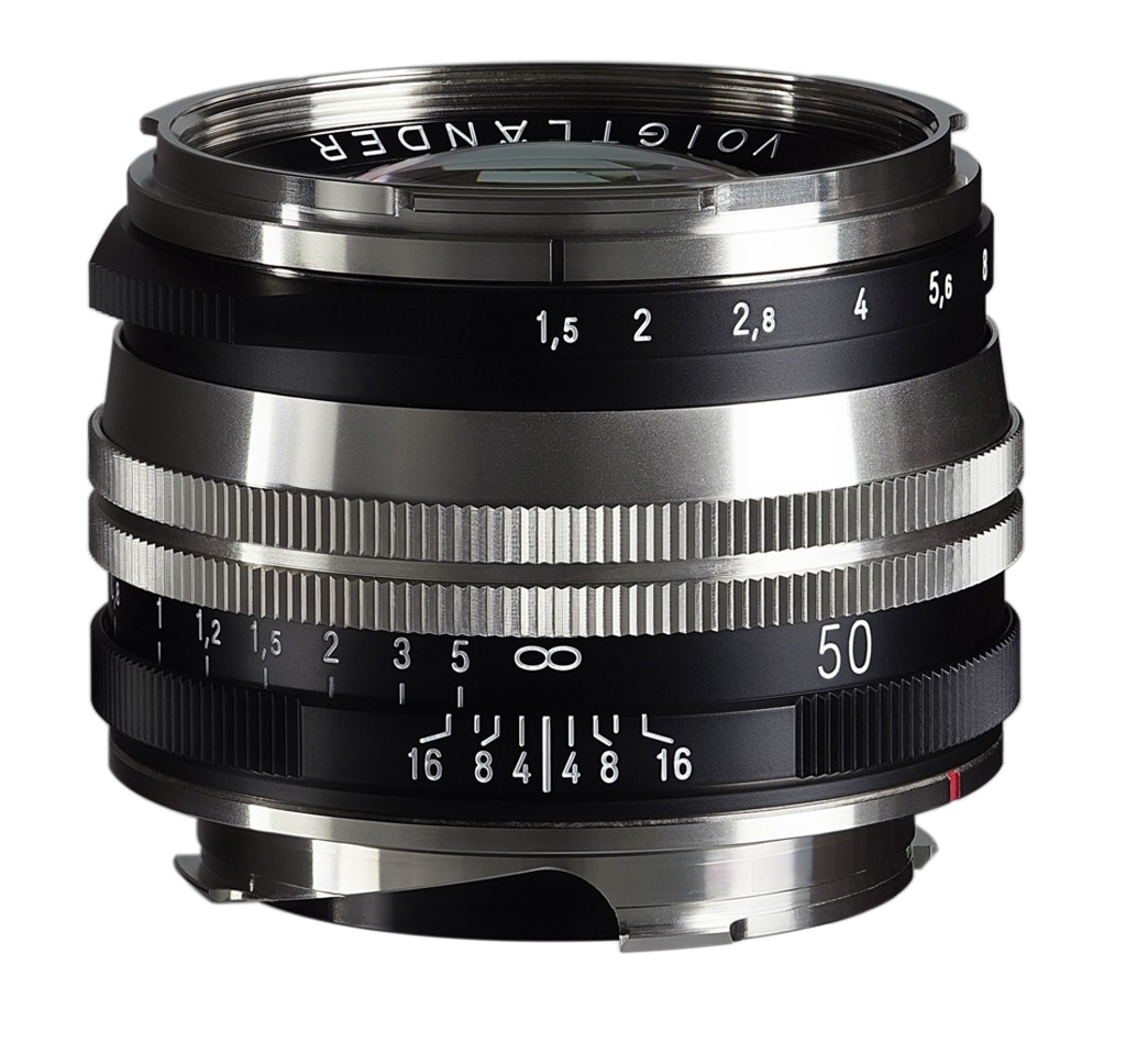Voigtländer VM 50mm 1:1,5 Nokton M.C. asphärisch Leica M bicolor