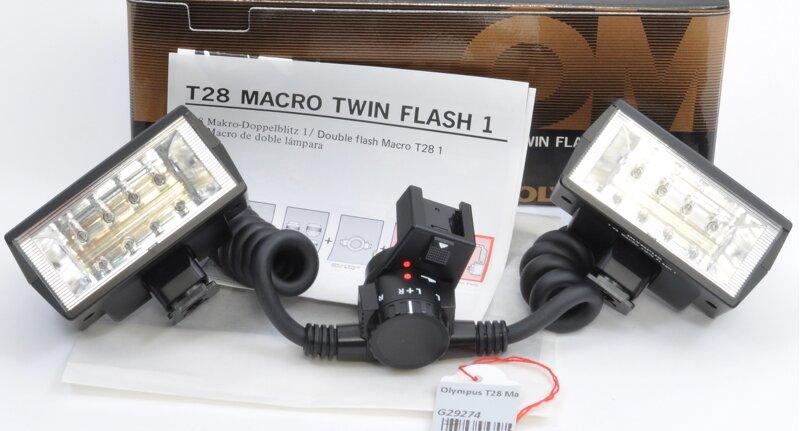 Olympus T28 Makro Blitz Set
