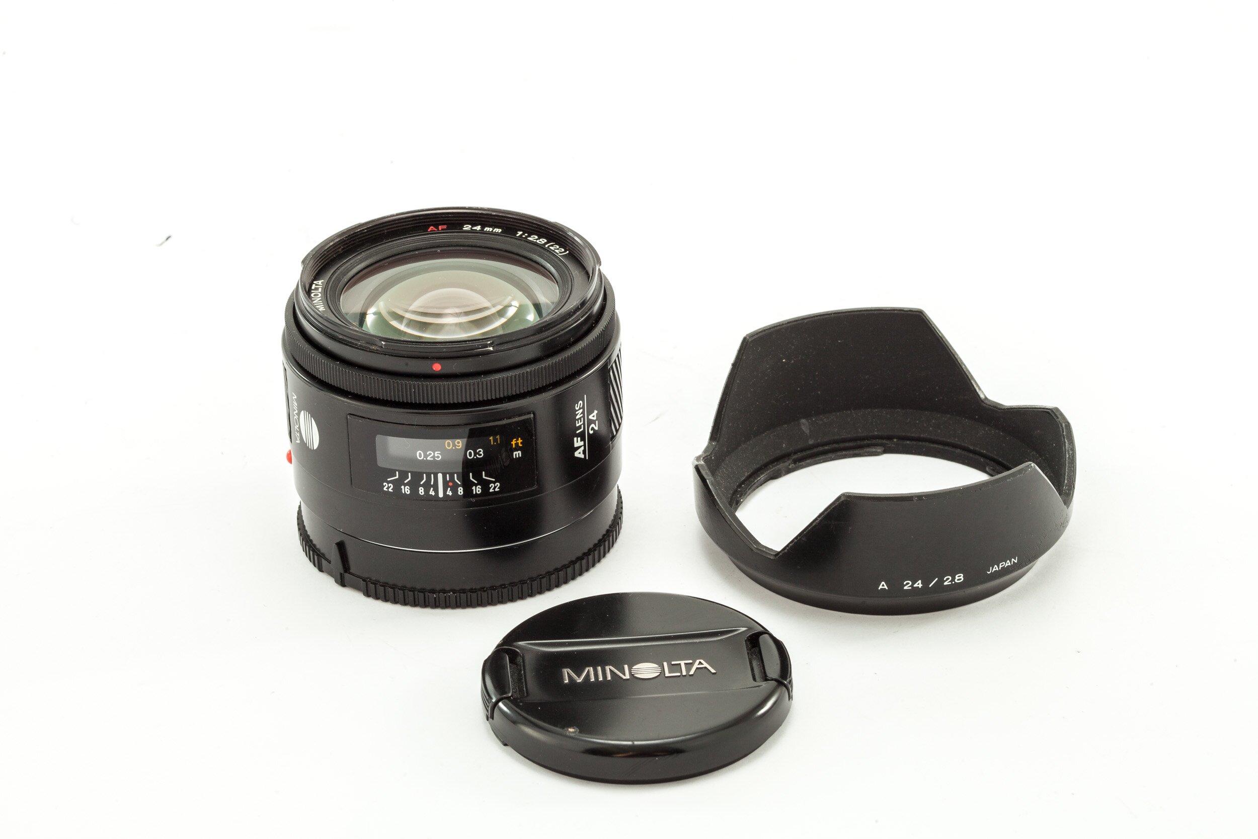 Minolta AF 24mm 2,8