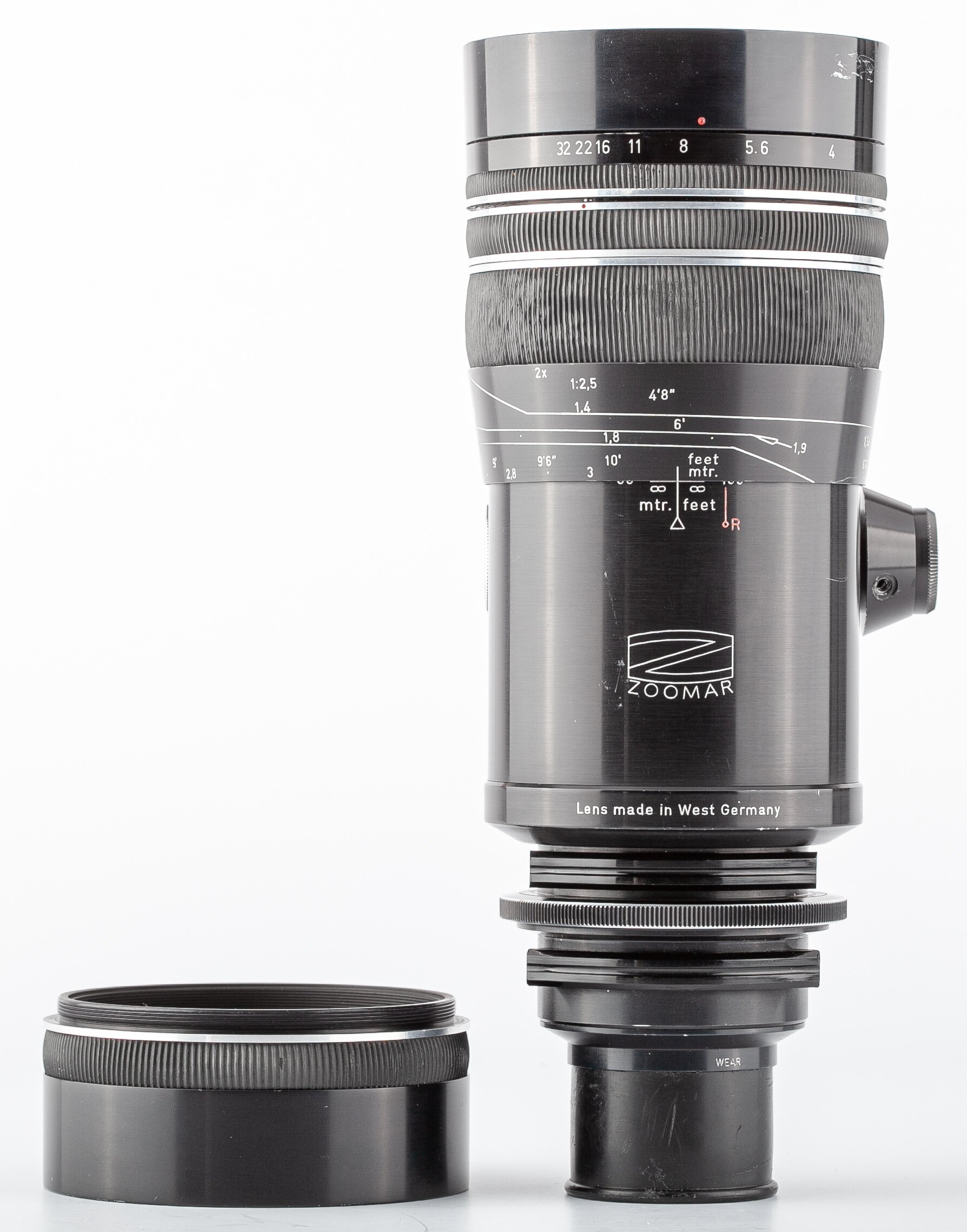 Kilfitt Zoomar Pan-Tele-Kilar 4/300mm Arriflex