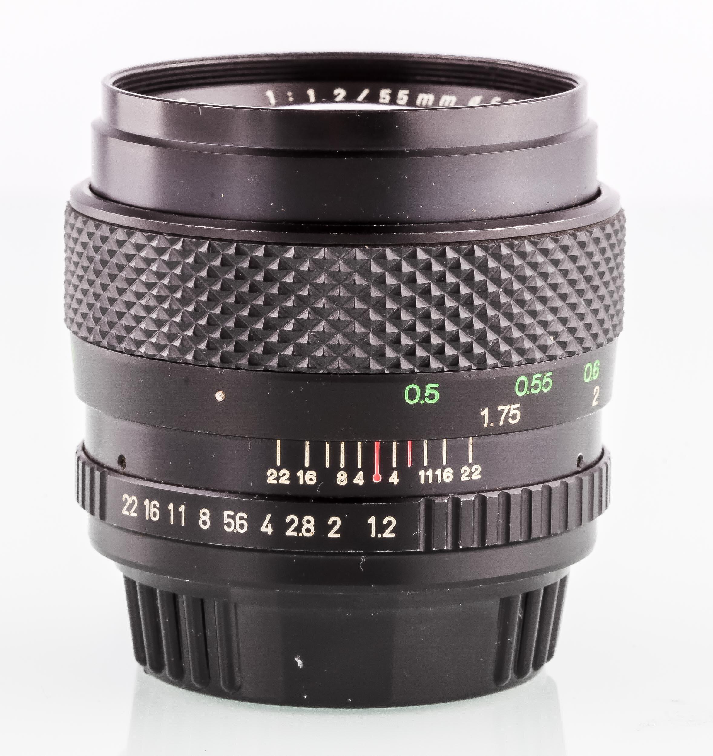 Porst f.PK Color Reflex MC Auto 1,2/50mm F
