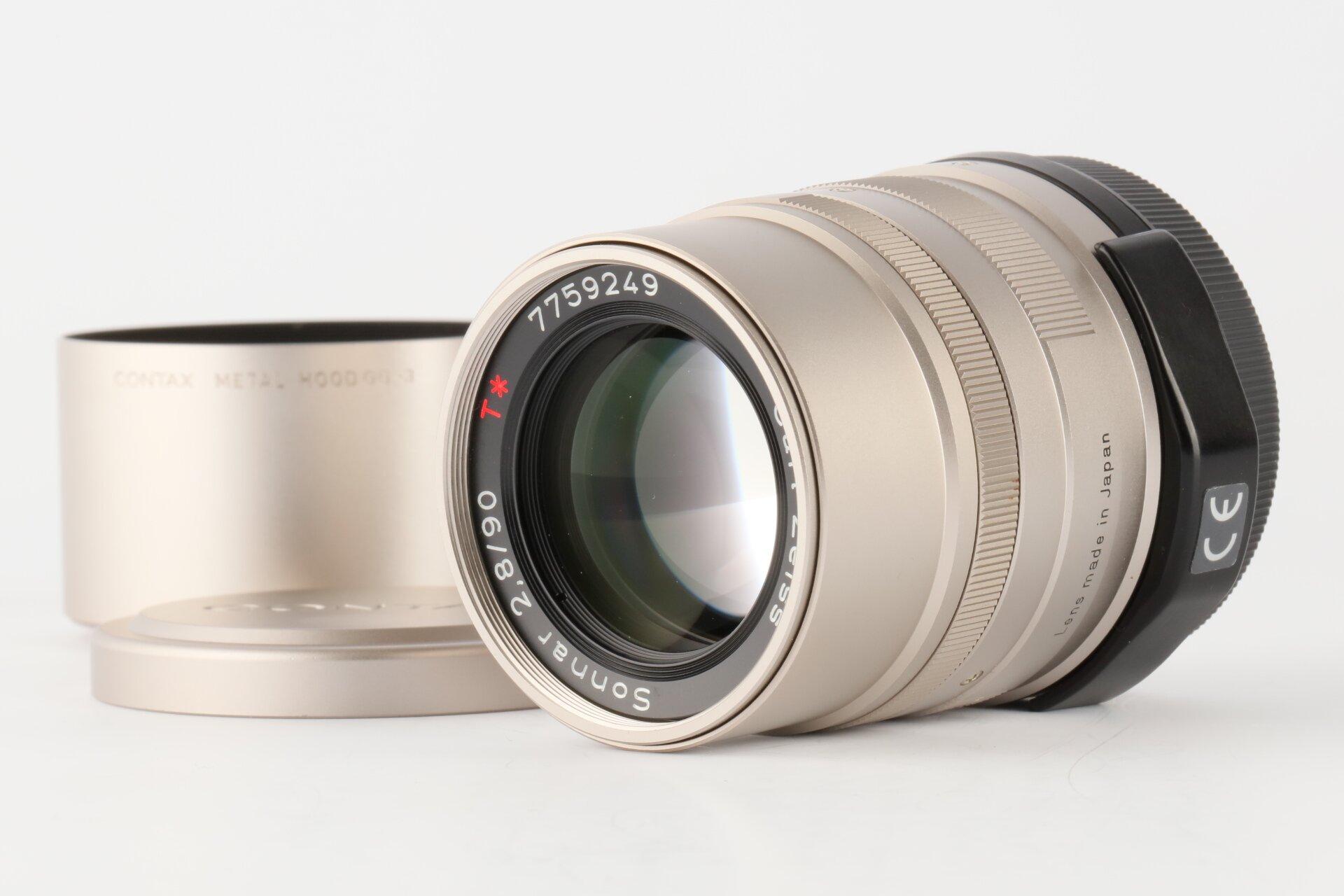 Carl Zeiss Sonnar T* 2,8/90mm T* Contax G Objektiv