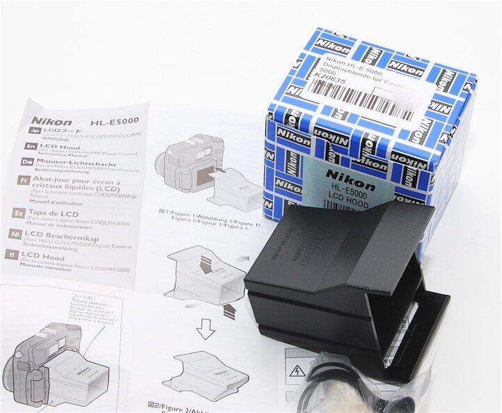 Nikon HL-E 5000 Displayblende für Coolpix 5000