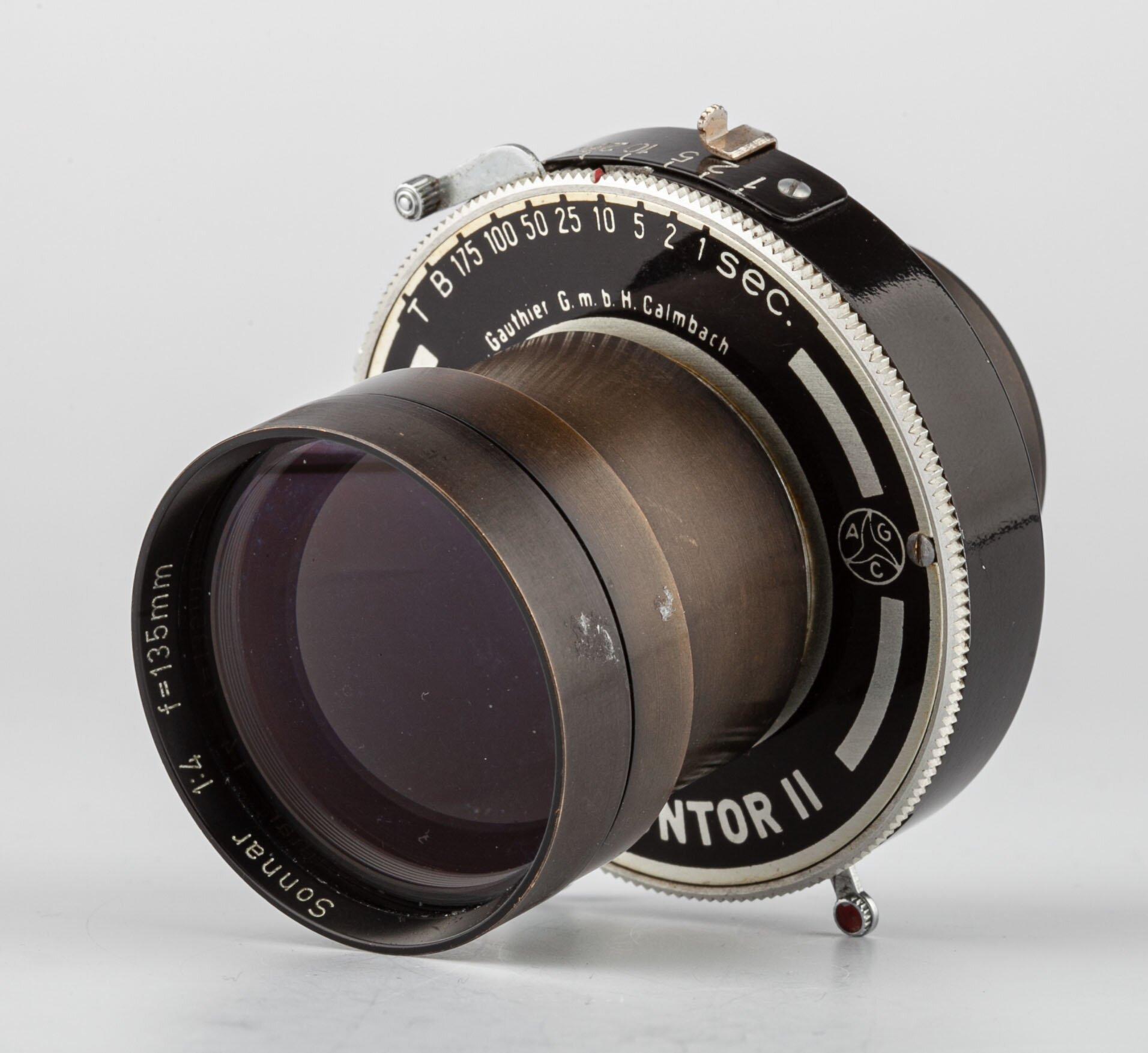 Carl Zeiss Sonnar 4/135mm+Prontor II Verschluss