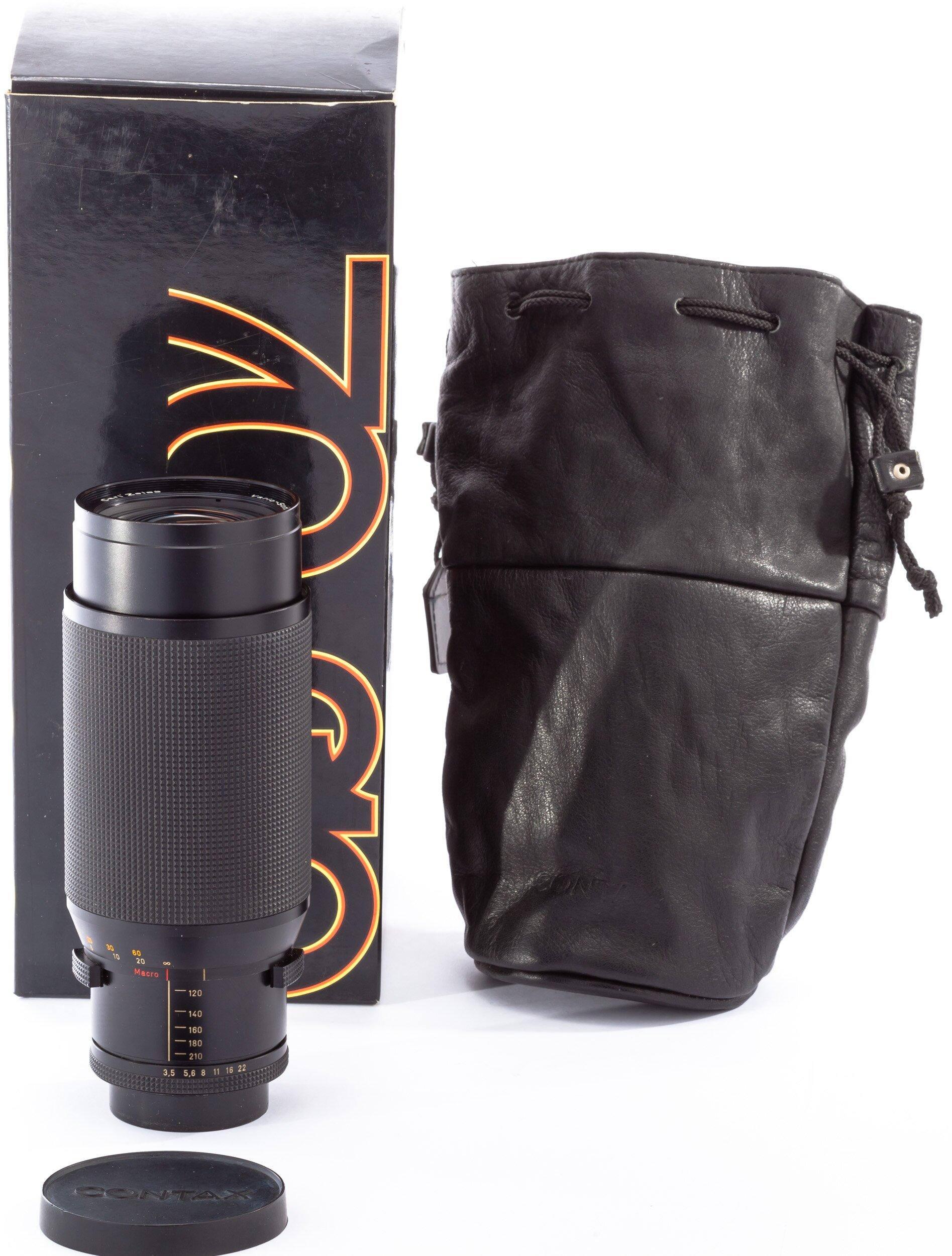 Carl Zeiss f. Contax RTS 70-210mm 3,5 T* Vario-Sonnar AEG